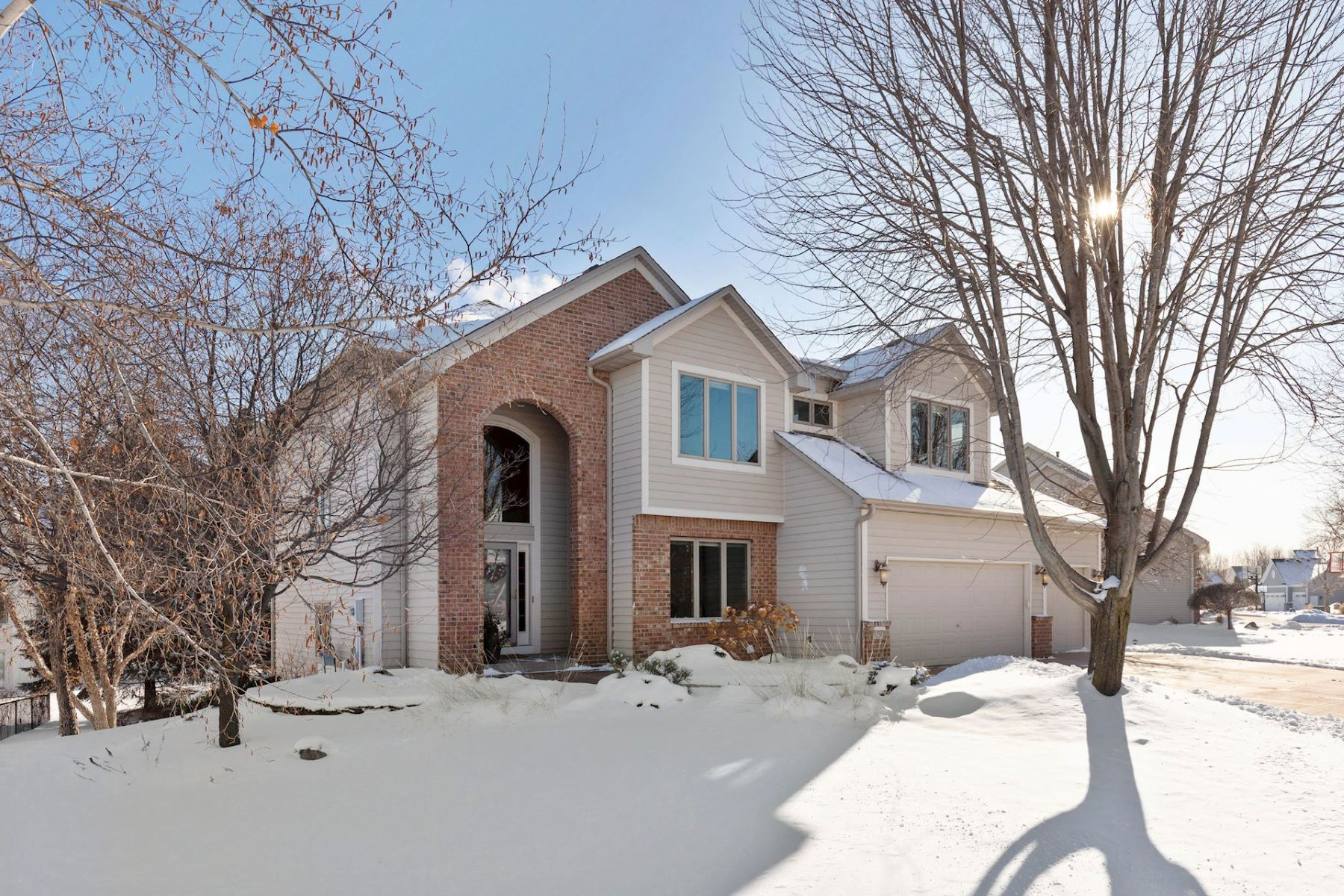 Single Family Homes for Sale at Turnkey Property Located in a Convenient Maple Grove Location 9236 Tewsbury Gate Maple Grove, Minnesota 55311 United States