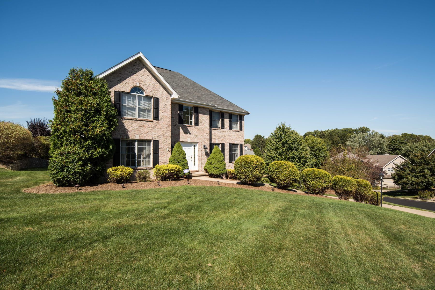 Single Family Homes for Sale at Stately Brick Home in Award Winning North Allegheny School District 1379 Royal Oak Drive, Wexford, Pennsylvania 15090 United States