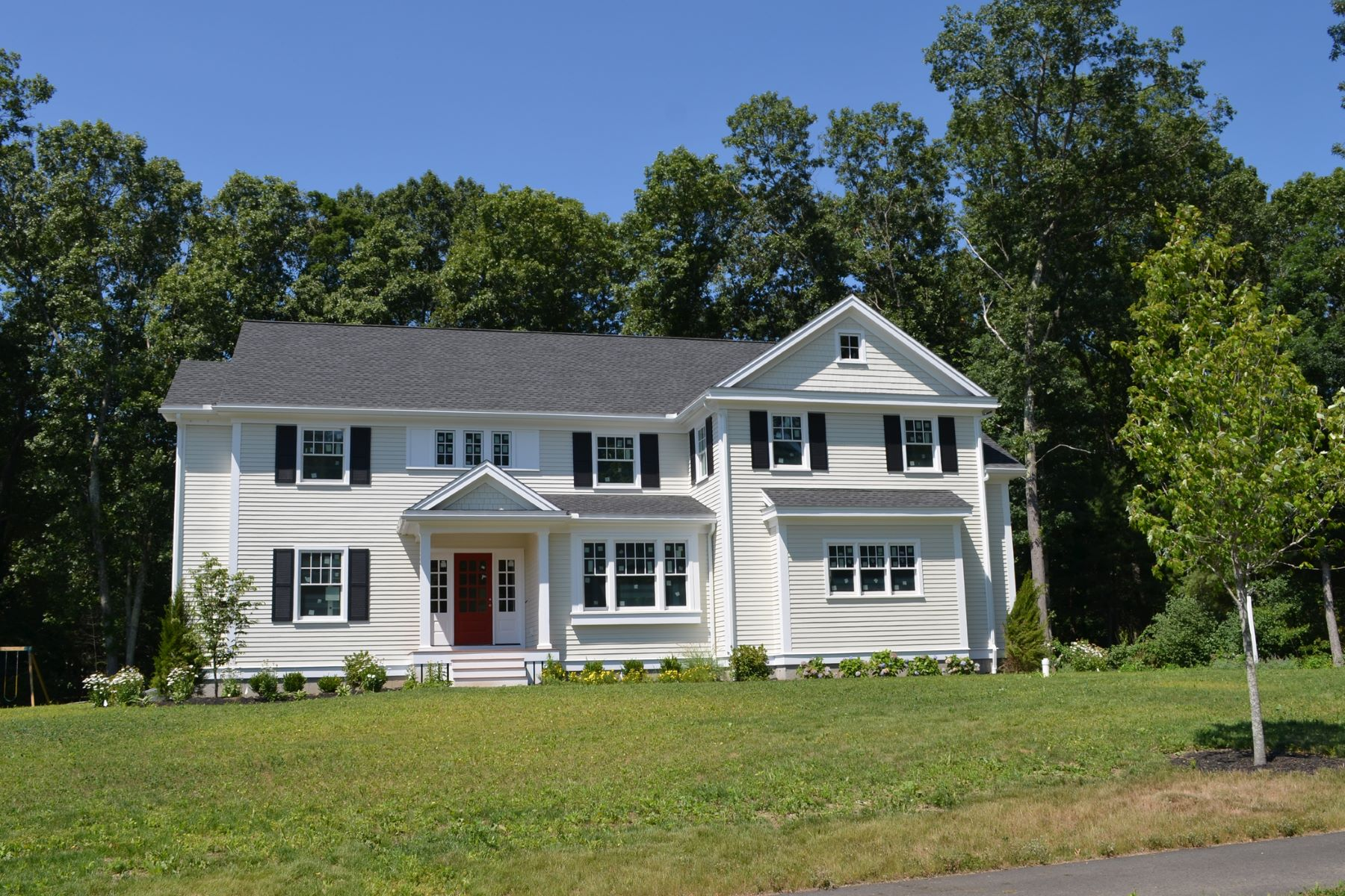 Single Family Home for Sale at Lovely Colonial at Monsen Farm Lot 7 Monsen Road Concord, Massachusetts, 01742 United States