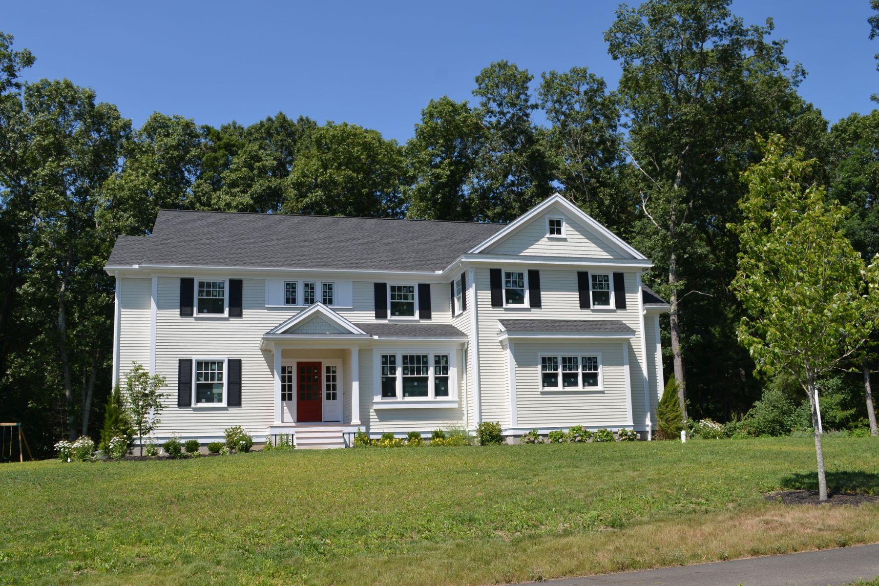 Tek Ailelik Ev için Satış at Lovely Colonial at Monsen Farm Lot 7 Monsen Road Concord, Massachusetts, 01742 Amerika Birleşik Devletleri