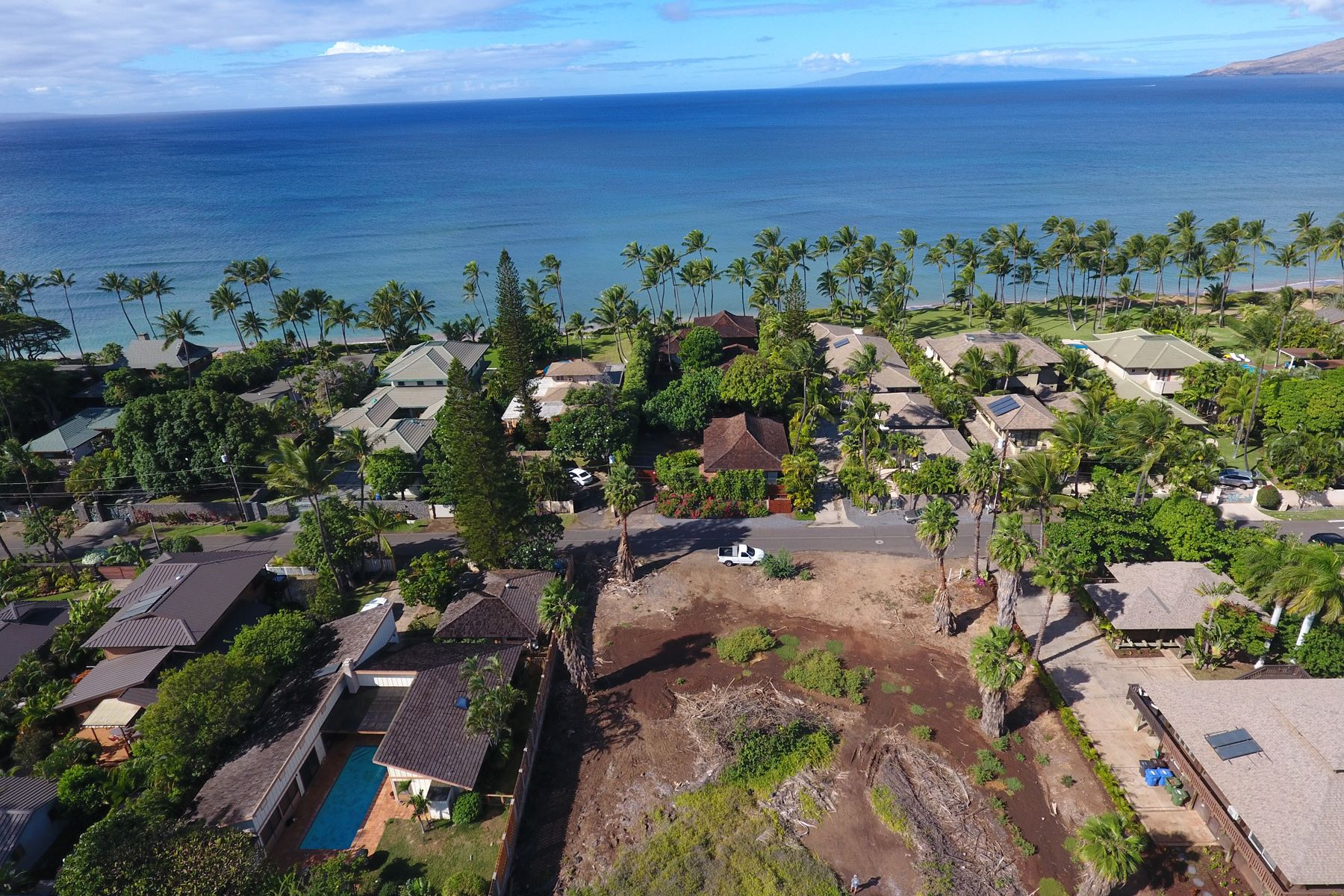 Land for Sale at Build your Maui Dream Home across from white sand beaches! 1519 Halama Street, Lot 1 Kihei, Hawaii 96753 United States