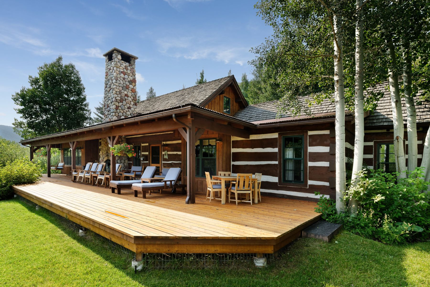 """Single Family Home for Active at The """"Waterfall"""" Cabin 41 Altamira Ranch Road Basalt, Colorado 81621 United States"""