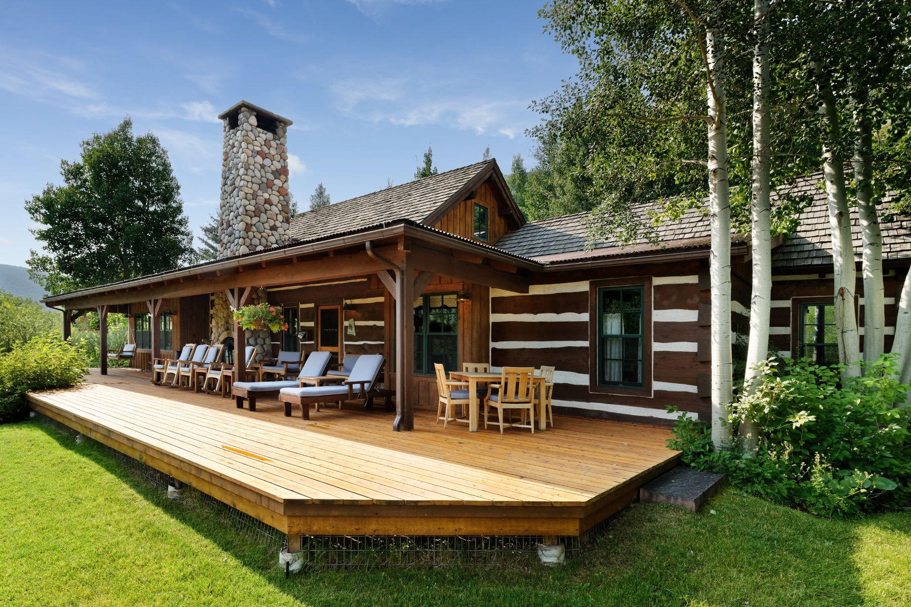 """Casa Unifamiliar por un Venta en The """"Waterfall"""" Cabin 41 Altamira Ranch Road Basalt, Colorado 81621 Estados Unidos"""