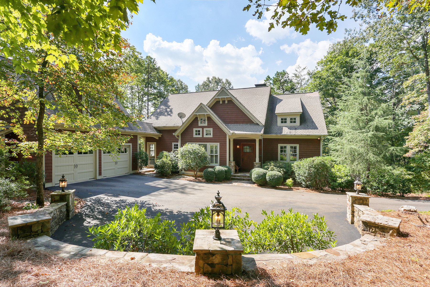 Single Family Homes for Active at Outstanding Craftsman Masterpiece In Big Canoe 176 Red Trillium Ridge Big Canoe, Georgia 30143 United States