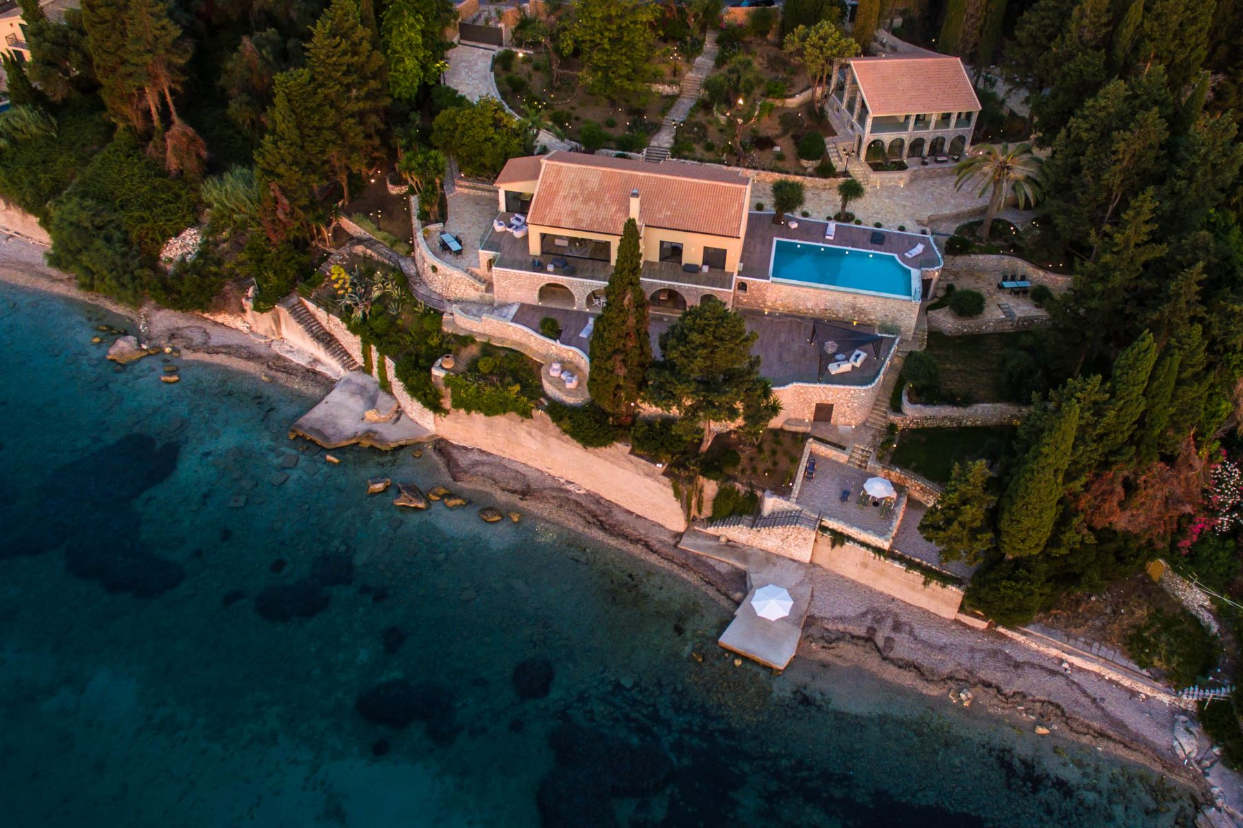 Single Family Home for Sale at Iconic Shore Corfu, Ionian Islands Greece