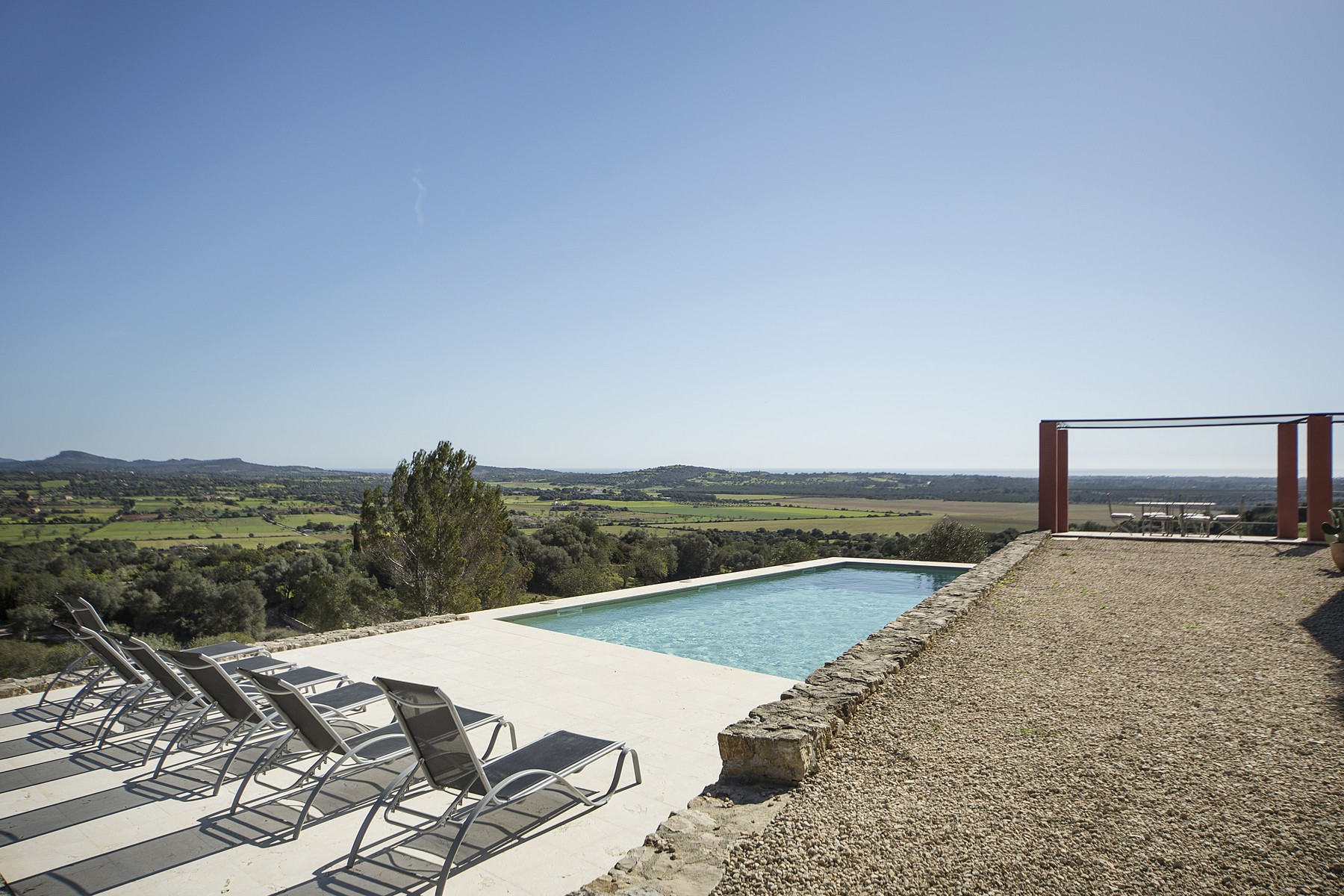 Single Family Home for Sale at Newly built Finca with nice views near the coast Manacor, Balearic Islands, Spain