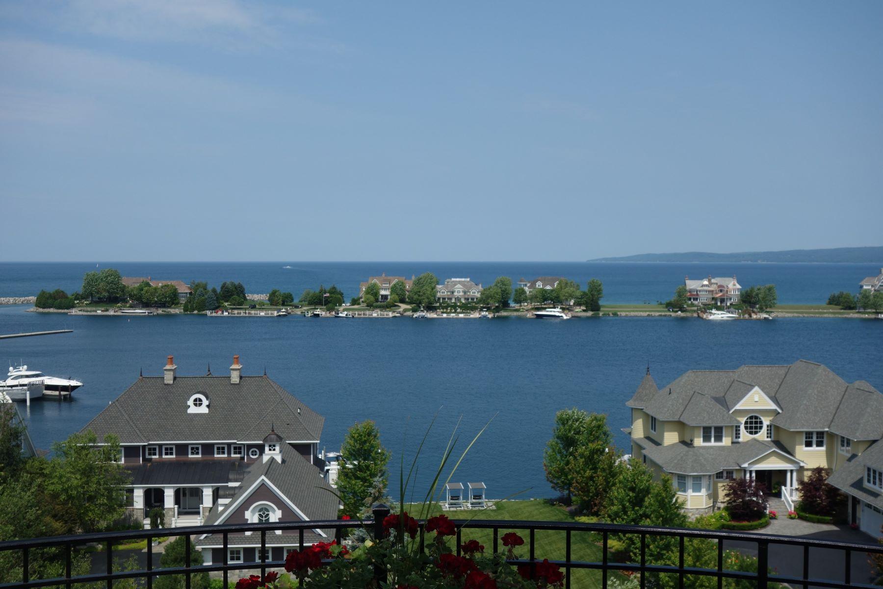 Condominiums for Active at Inviting and stately upper Harborview Ridge condominium 4136 Harborview Ridge Bay Harbor, Michigan 49770 United States