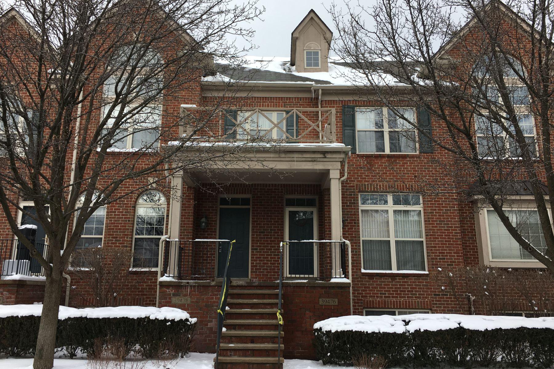 Condominiums para Venda às 39478 Springwater Drive, Northville Township, Michigan 48168 Estados Unidos