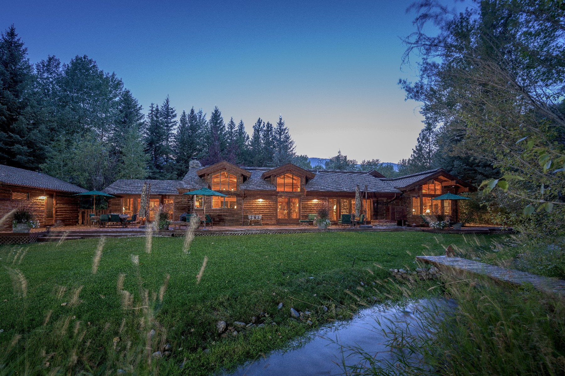 Single Family Home for Sale at Captivating Gimlet Compound 102 Deer Run Rd Ketchum, Idaho 83340 United States