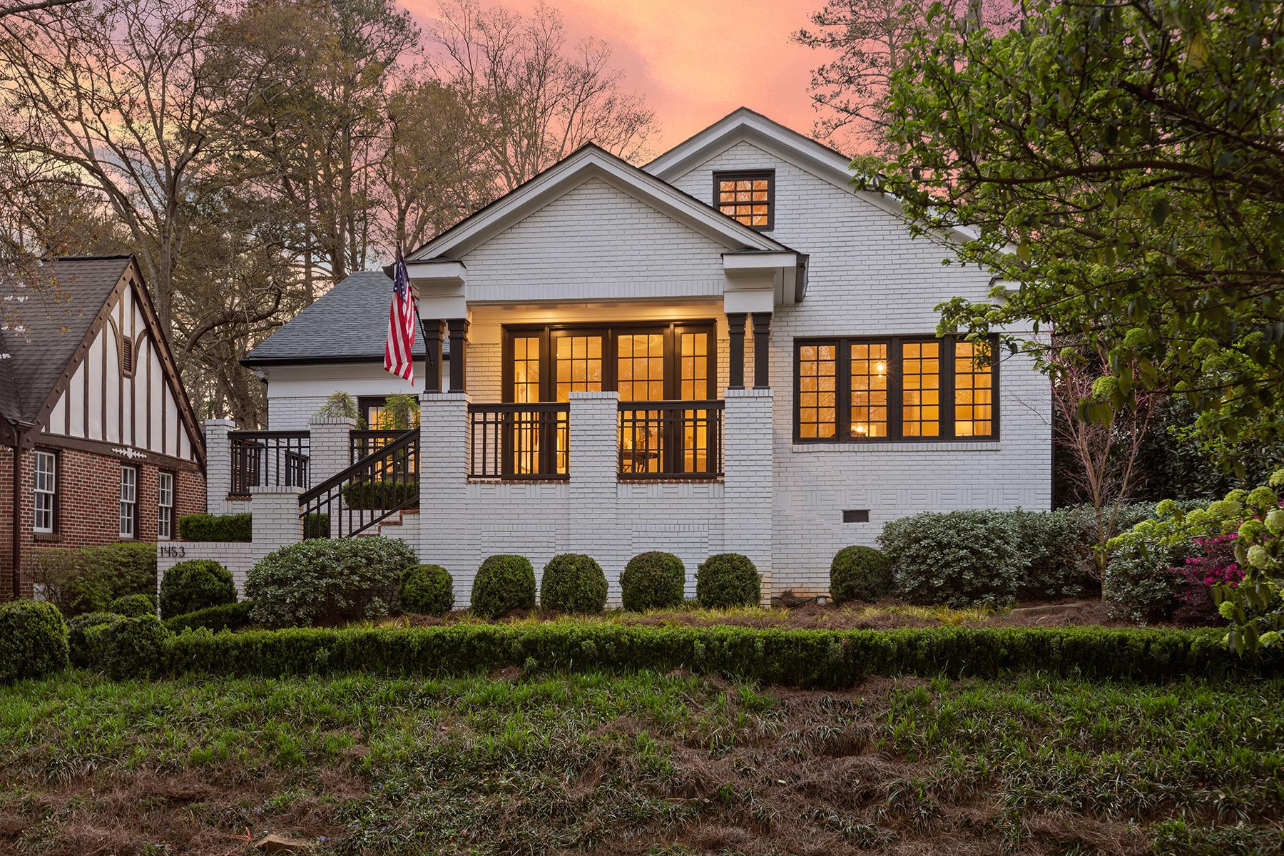 Single Family Homes por un Venta en Entertainer's Druid Hills Dream 1453 Emory Road NE Atlanta, Georgia 30306 Estados Unidos