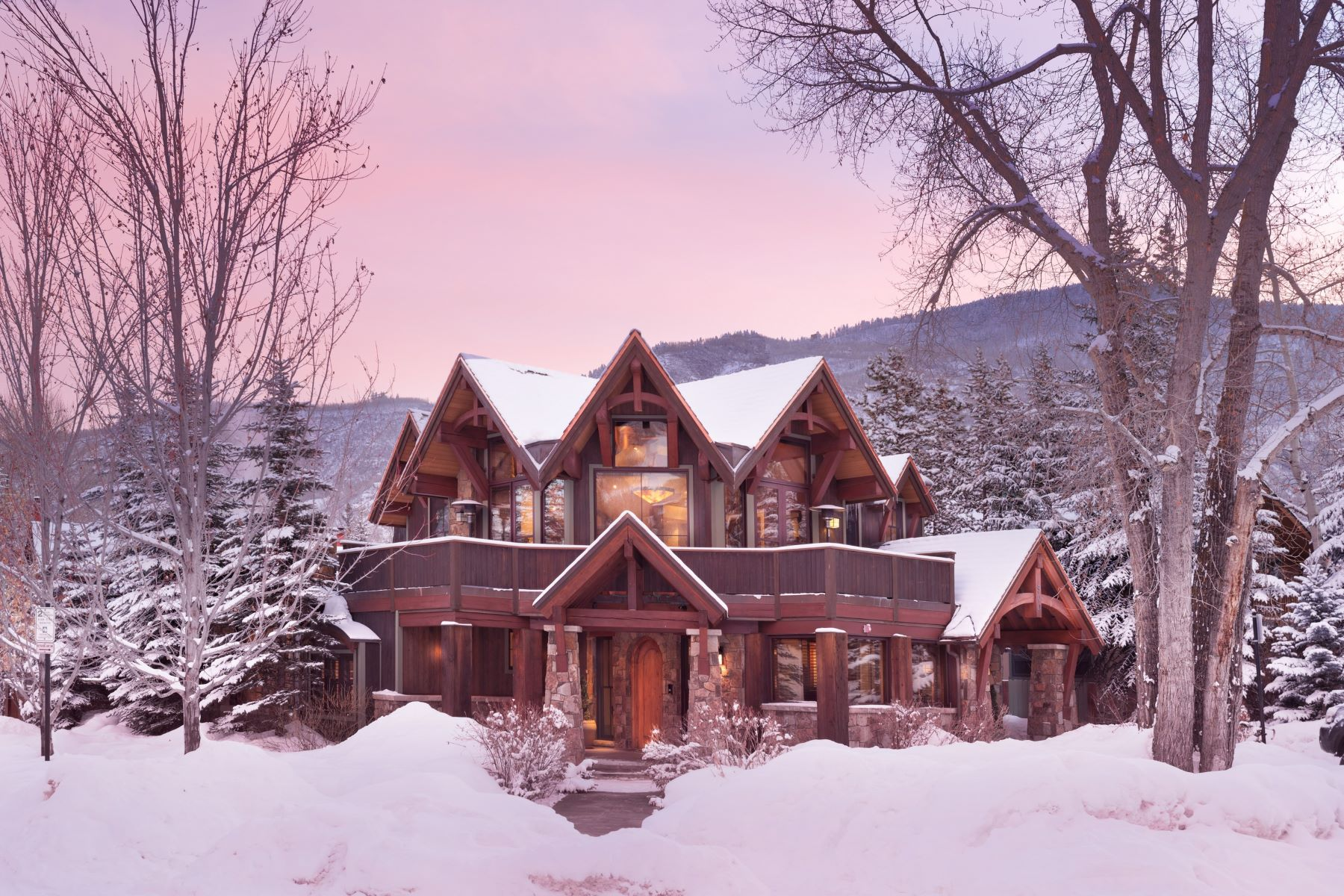 Single Family Homes for Sale at Rare Find in Aspen Core 900 Waters Avenue Aspen, Colorado 81611 United States