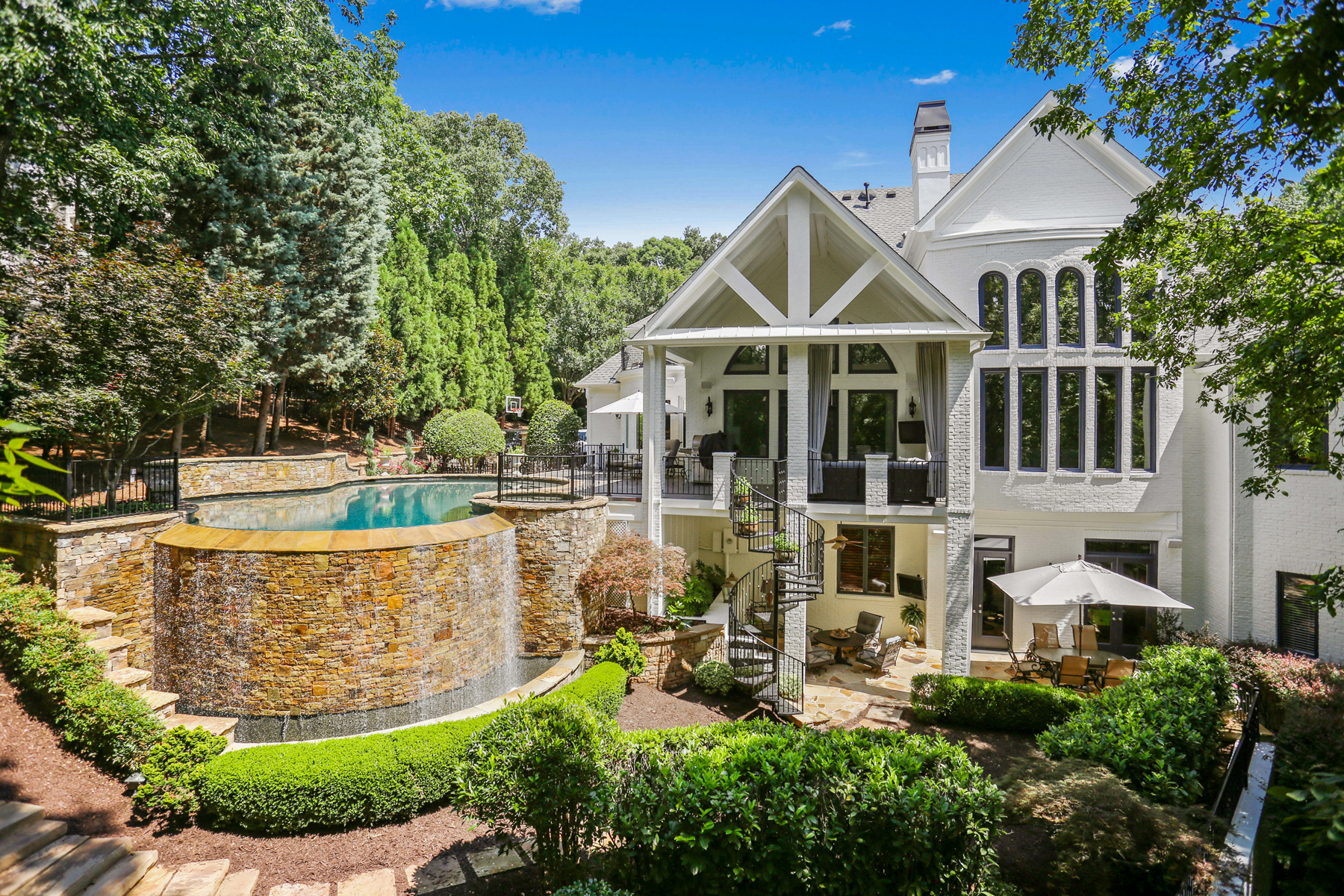 Single Family Home for Sale at Exceptional Better Than New Country Club Of The South Estate 8957 Old Southwick Pass Johns Creek, Georgia 30022 United States