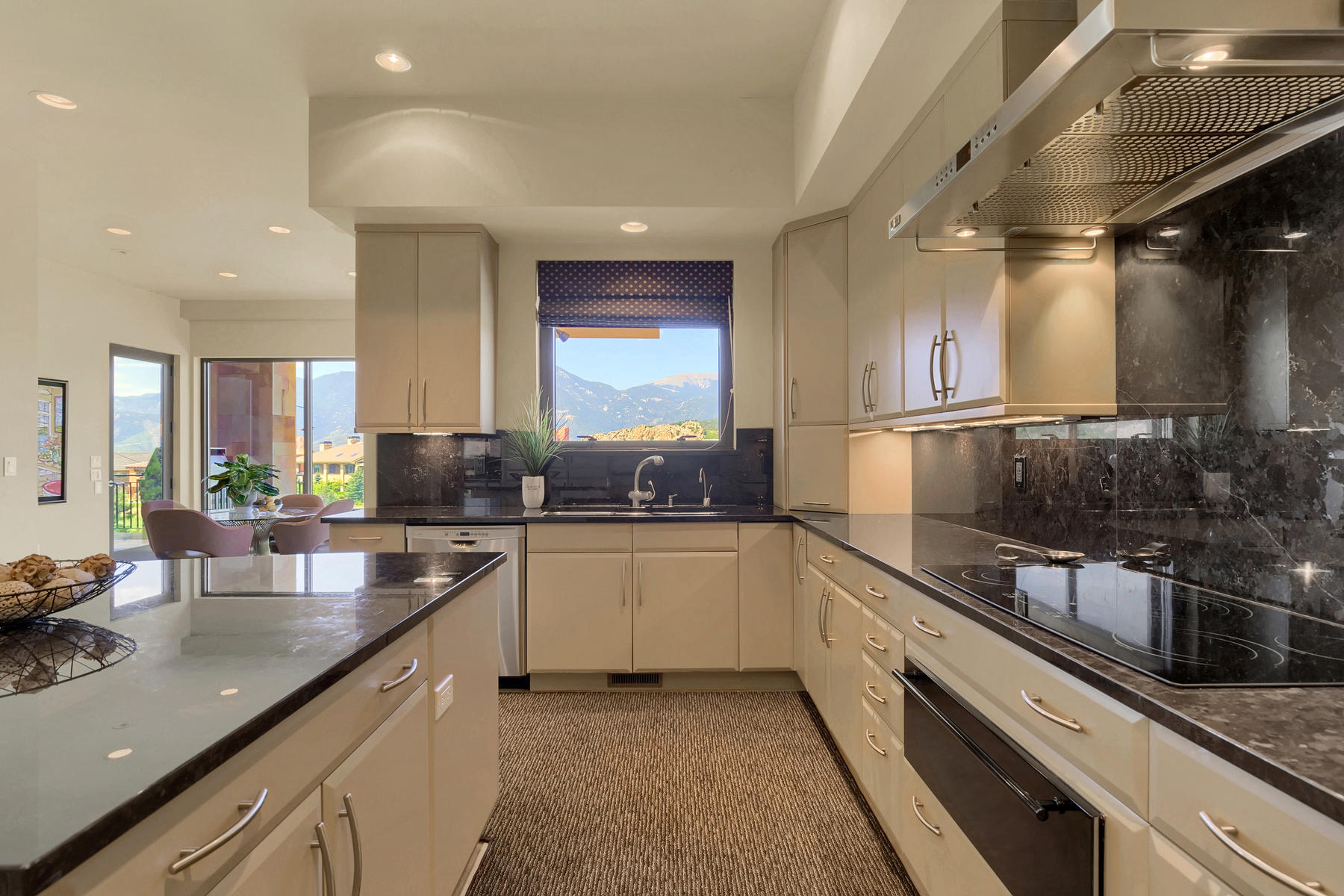 Additional photo for property listing at This custom contemporary masterpiece must be experienced in person 3724 Camelrock Vw Colorado Springs, Colorado 80904 United States