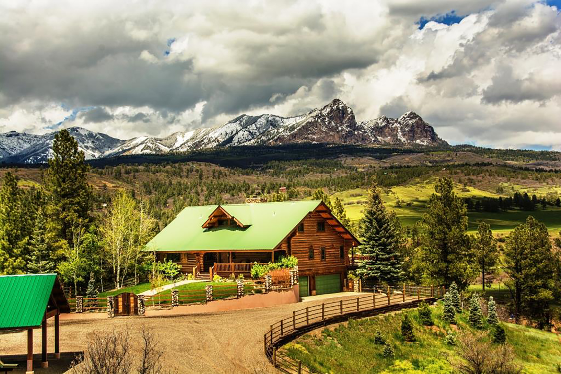 Single Family Homes for Sale at Cross Bell Ranch 2851 Cty Rd 382 Pagosa Springs, Colorado 81128 United States