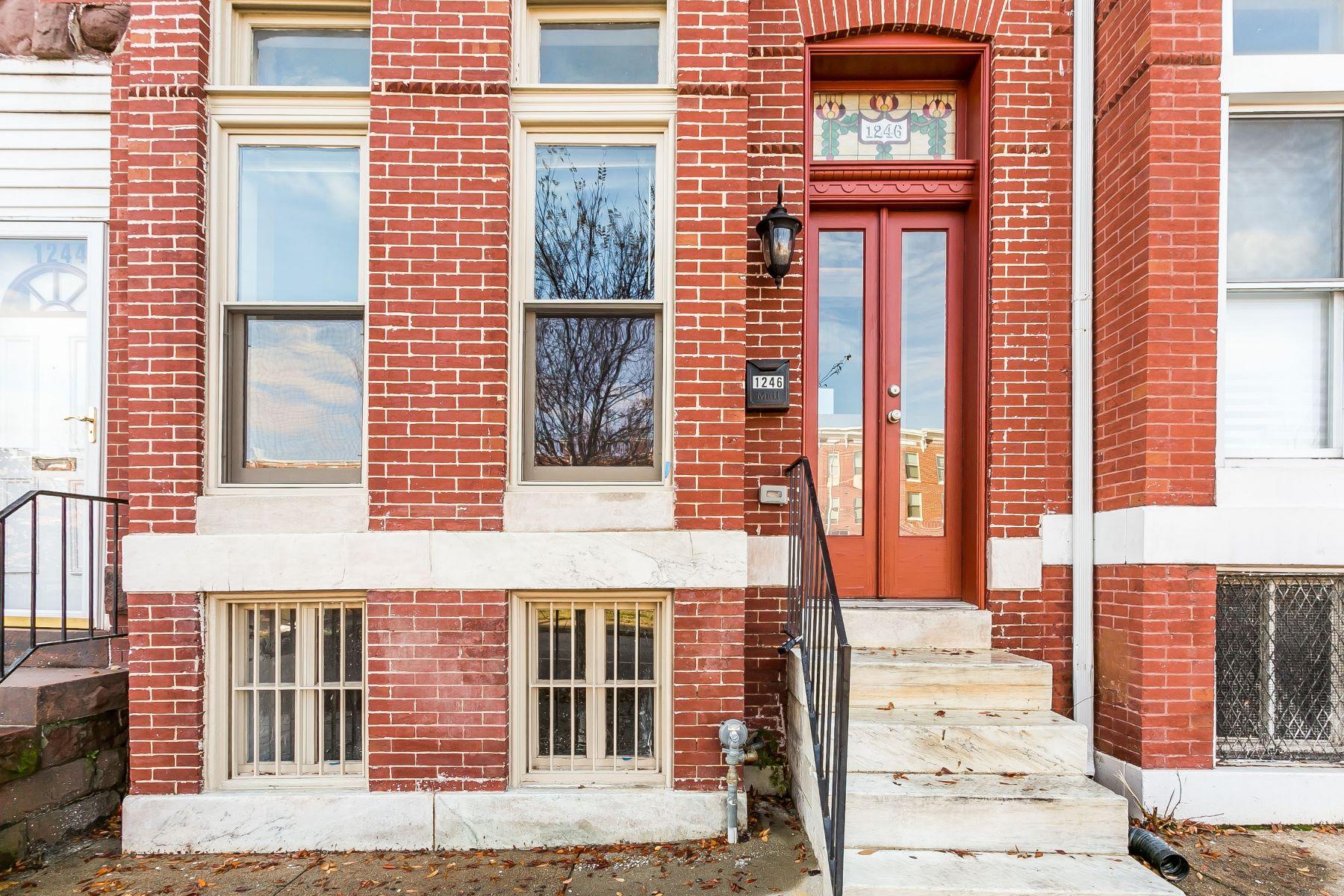 townhouses のために 売買 アット Baltimore City 1246 North Broadway, Baltimore, メリーランド 21213 アメリカ