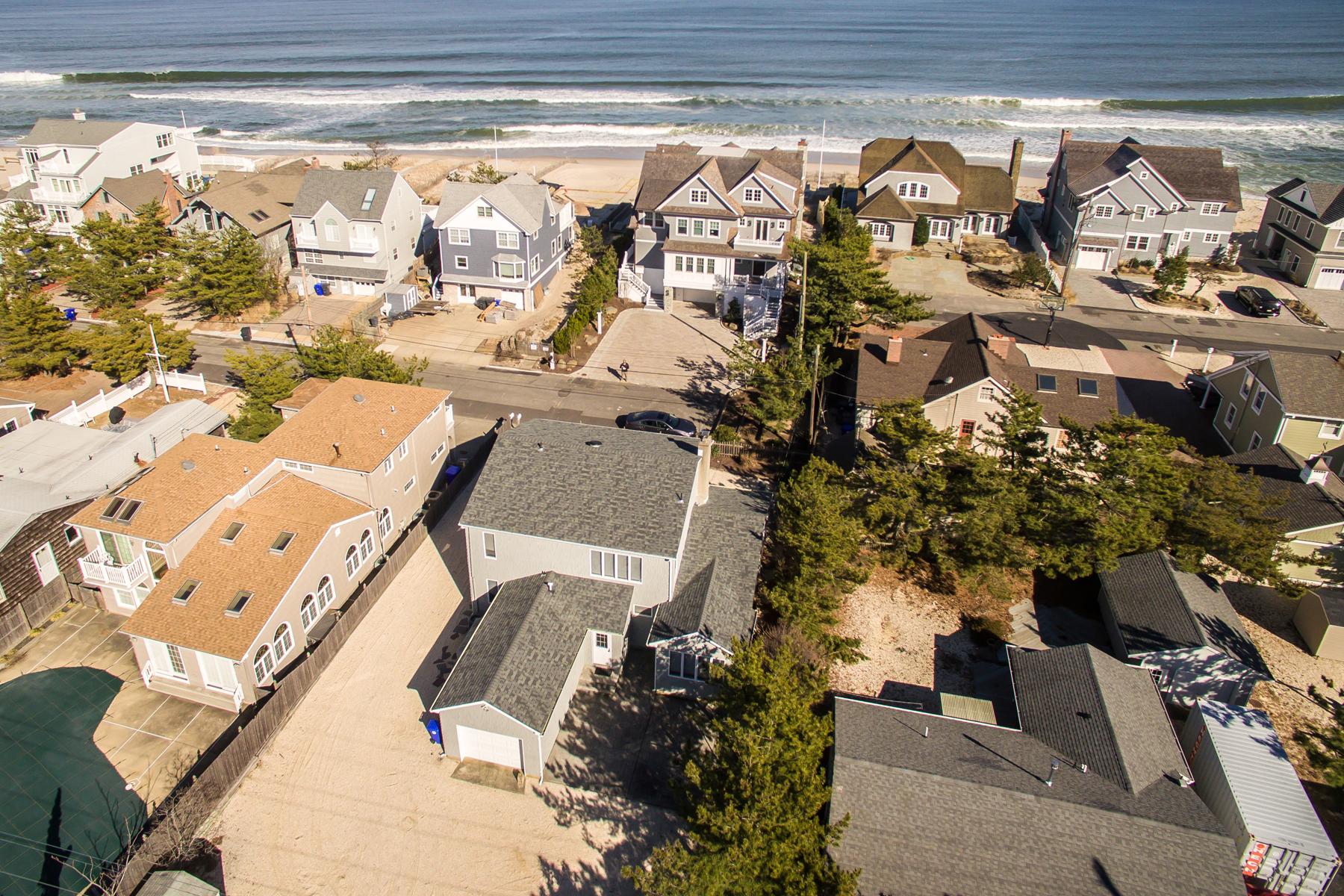 Nhà ở một gia đình vì Bán tại Oceanblock Shore Colonial Style Home 179 Sunset Lane, Mantoloking, New Jersey, 08738 Hoa Kỳ