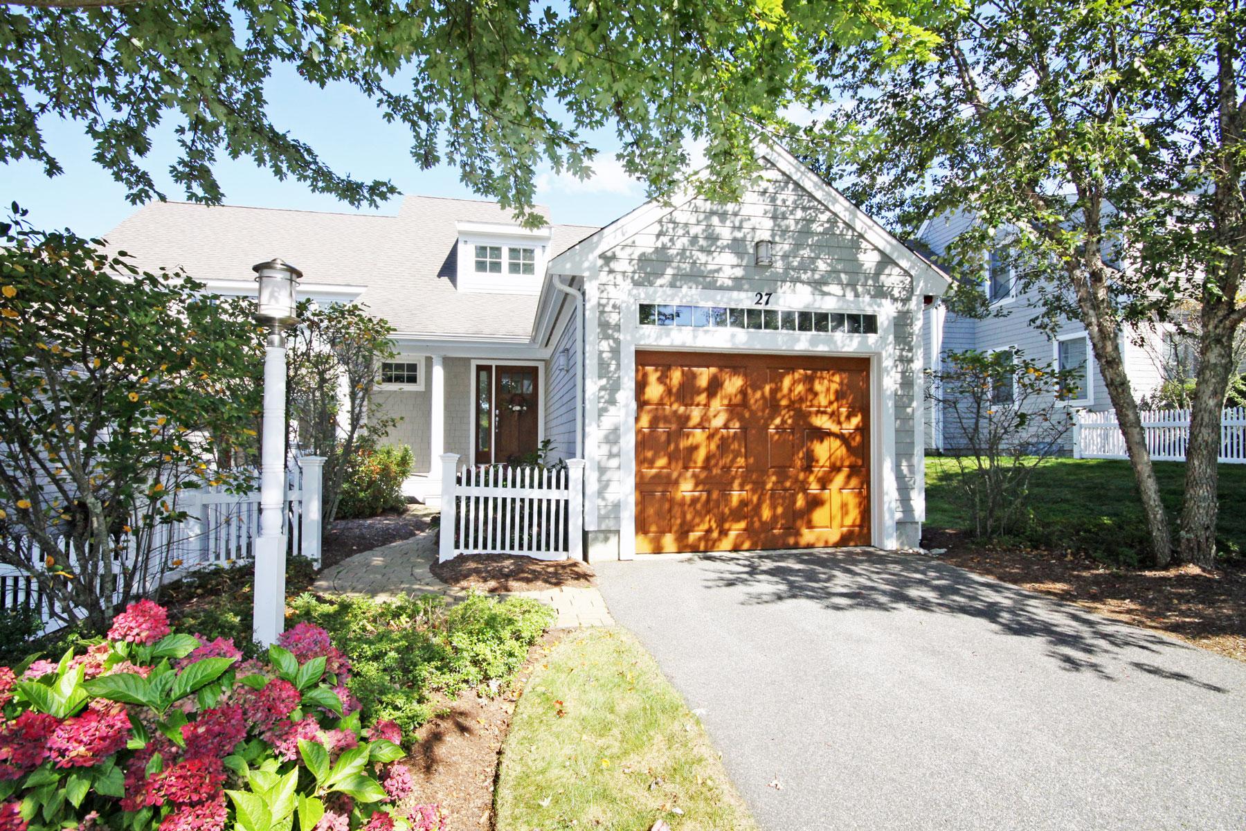 Casa para uma família para Venda às EXQUISITE GOLF FRONT 27 Northwest Landing Unit 7, New Seabury, Massachusetts, 02649 Estados UnidosEm/Em torno de: Mashpee