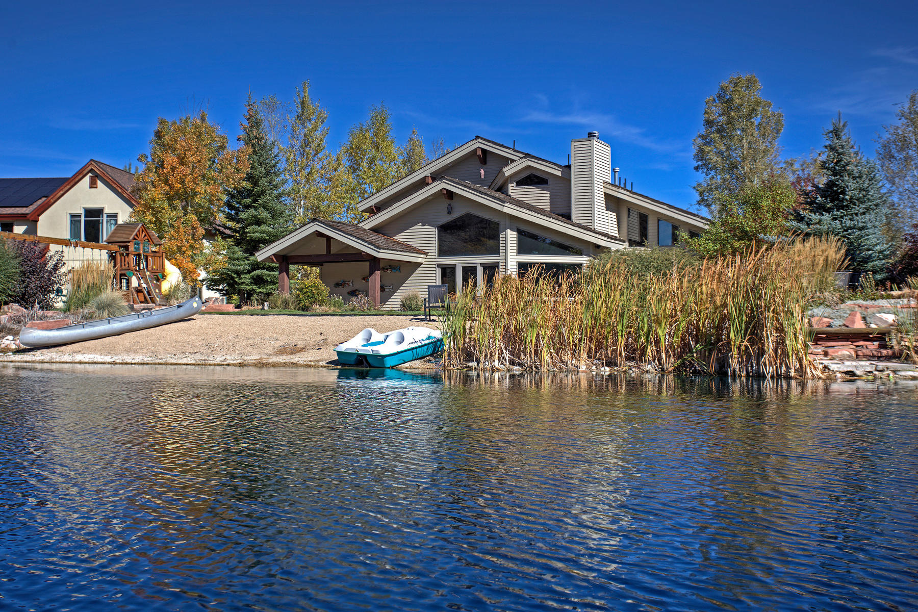 sales property at Lakefront Living with Stunning Ski Resort Views