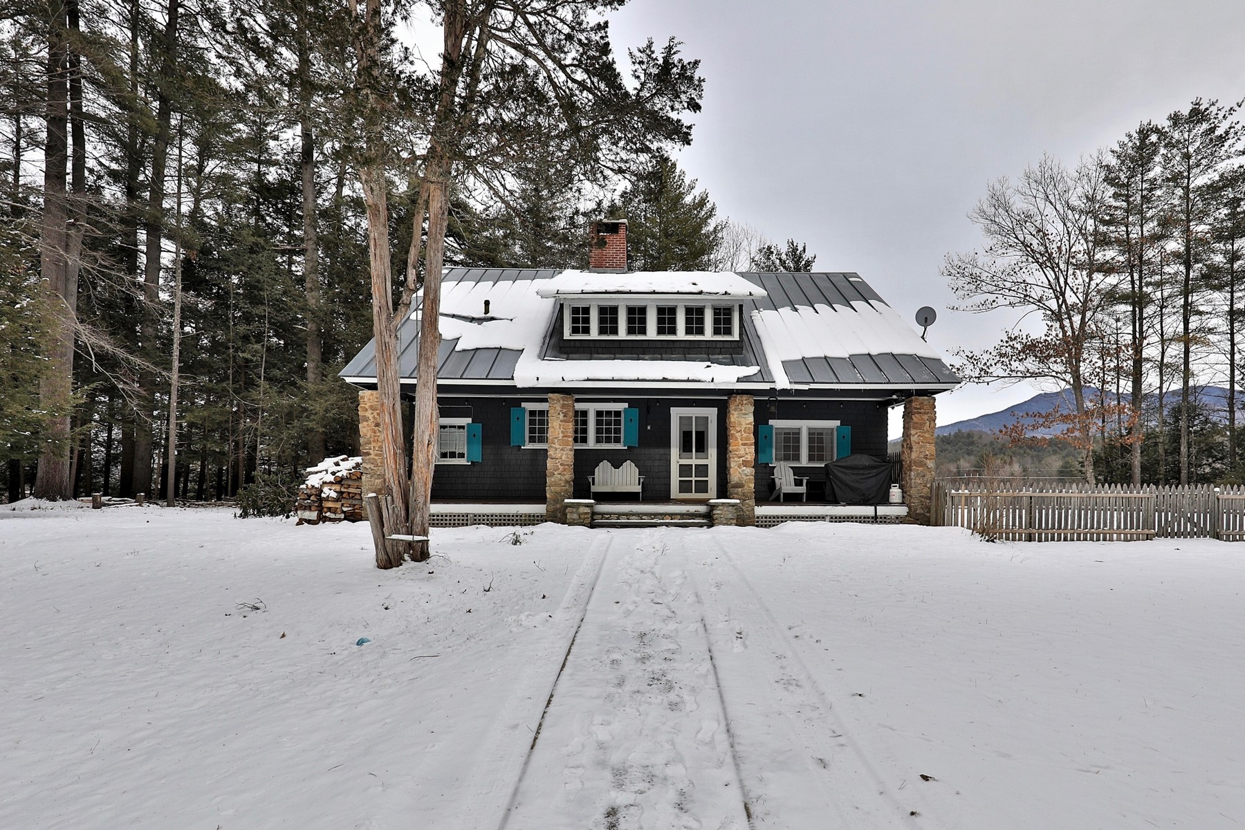 Single Family Homes for Sale at Secluded Mountain Retreat 235 Amsden School Road Weathersfield, Vermont 05151 United States