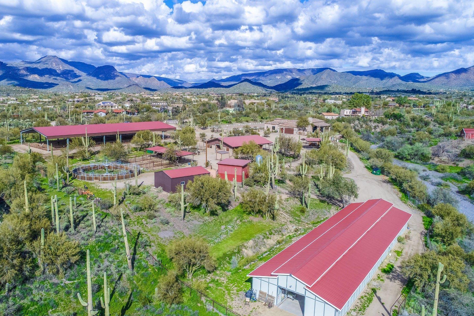single family homes for Active at Impressive Equestrian Estate 5723 E Yucca Rd Cave Creek, Arizona 85331 United States