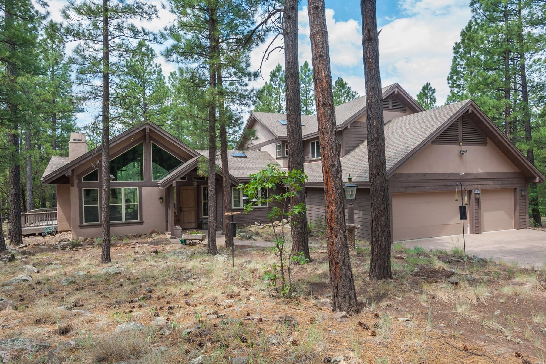 Maison unifamiliale pour l Vente à versatile Custom Home in Mt.Elden Lookout Road 105 W Mount Elden Lookout Rd Flagstaff, Arizona, 86001 États-Unis
