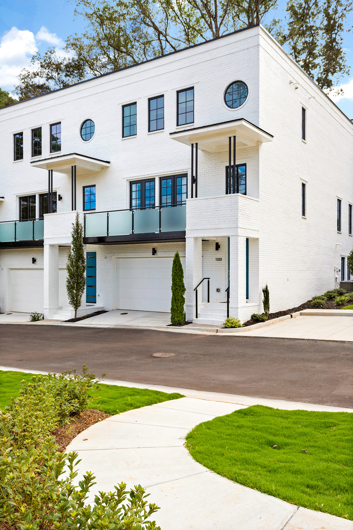 Townhouse for Sale at Art Moderne Inspired Living In A Contemporary Setting 1517 Briarcliff Road 7 Atlanta, Georgia 30306 United States