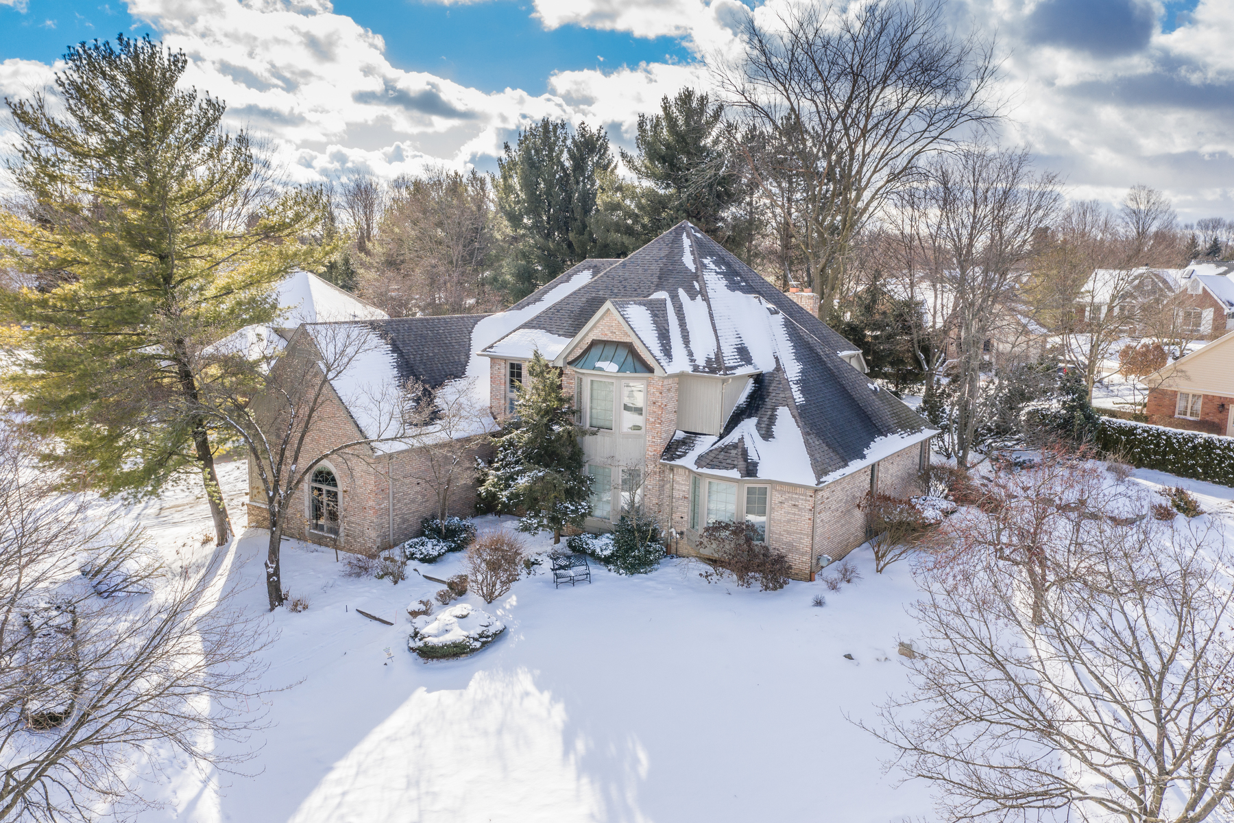 Single Family Homes for Sale at Northville 923 Andover Road Northville, Michigan 48167 United States