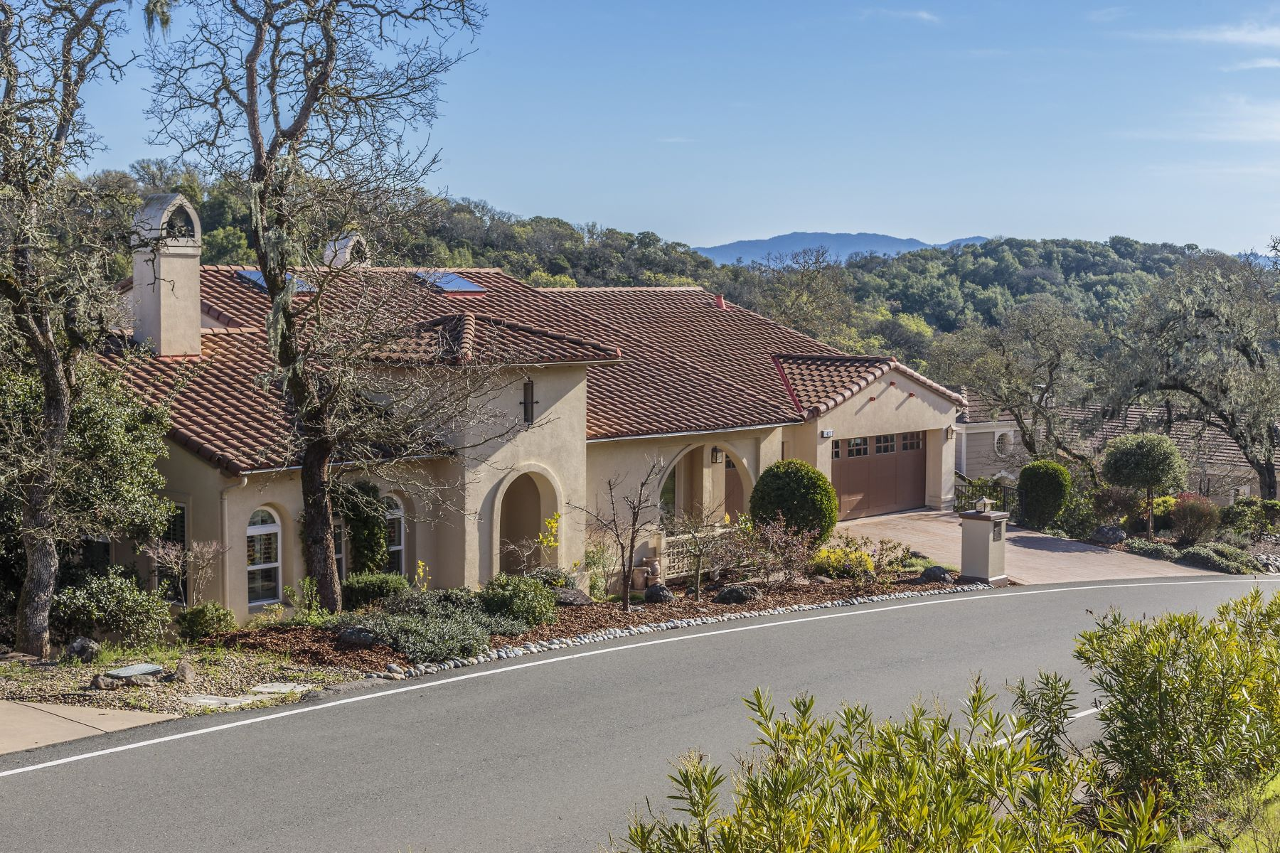Single Family Home for Sale at Exquisite Tuscan Style Home at Stonetree Golf Club 48 Stonetree Lane Novato, California 94945 United States