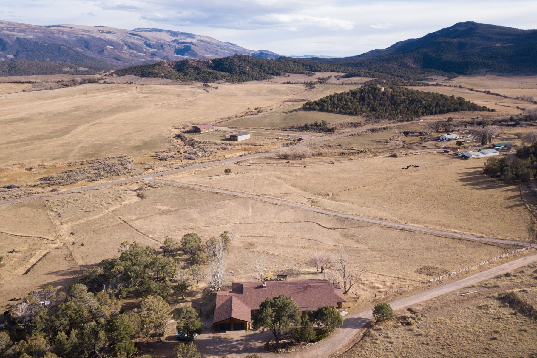 Farm / Ranch / Plantation for Active at Custom Ranch Estate in Divide Creek 3809 Fairview Road Silt, Colorado 81652 United States