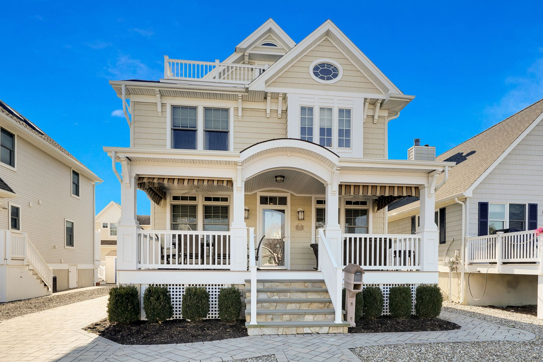 Single Family Home for Sale at Exceptional Coastal Home 553 Salmon Avenue Manasquan, New Jersey 08736 United States