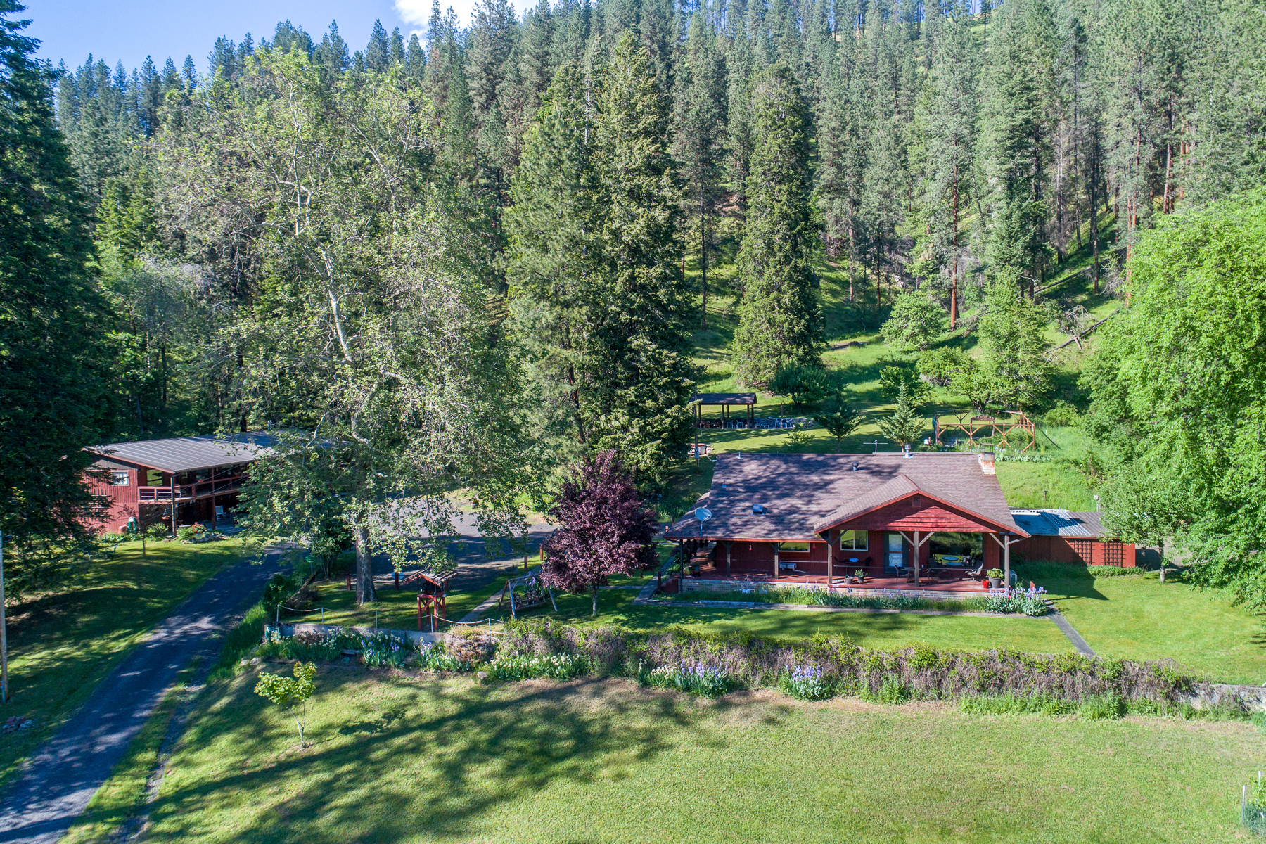 Single Family Home for Sale at REFLECTIONS RESIDENCE 6873 US Highway 12 Kooskia, Idaho 83539 United States