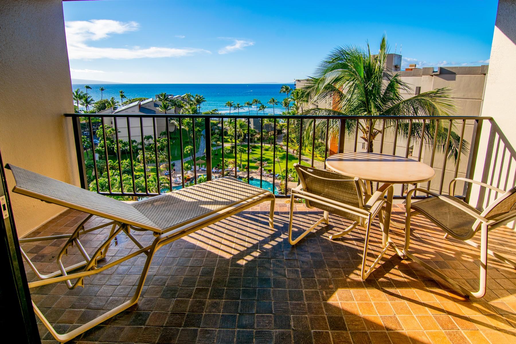 شقة بعمارة للـ Sale في Penthouse Two Bedroom Condo With Sweeping Ocean Views 3445 Lower Honoapiilani Road, Kaanapali Shores 927, Kaanapali, Hawaii, 96761 United States