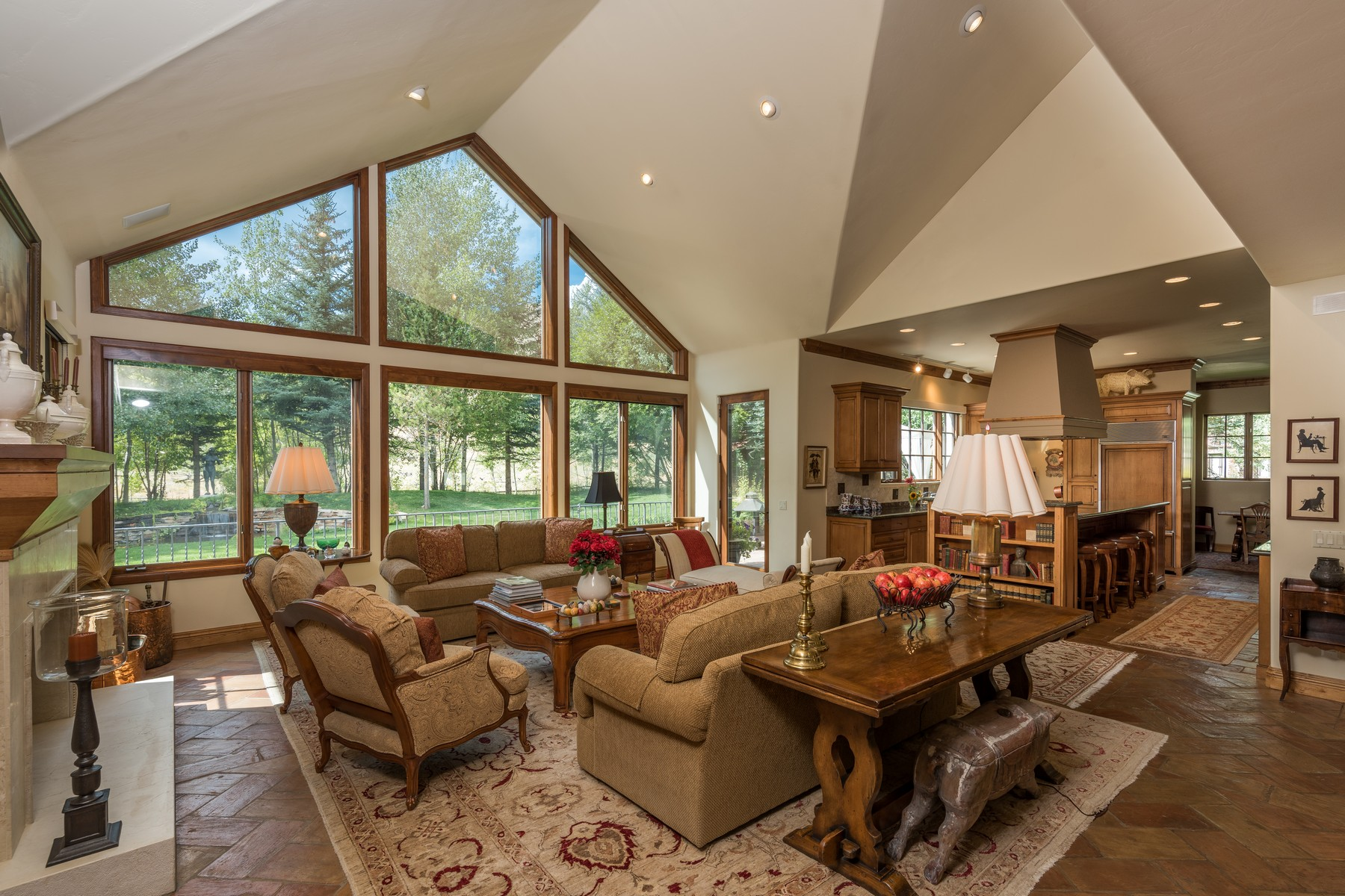 Single Family Home for Sale at Mountain Elegance 1100 W Canyon Run Blvd. Ketchum, Idaho 83340 United States