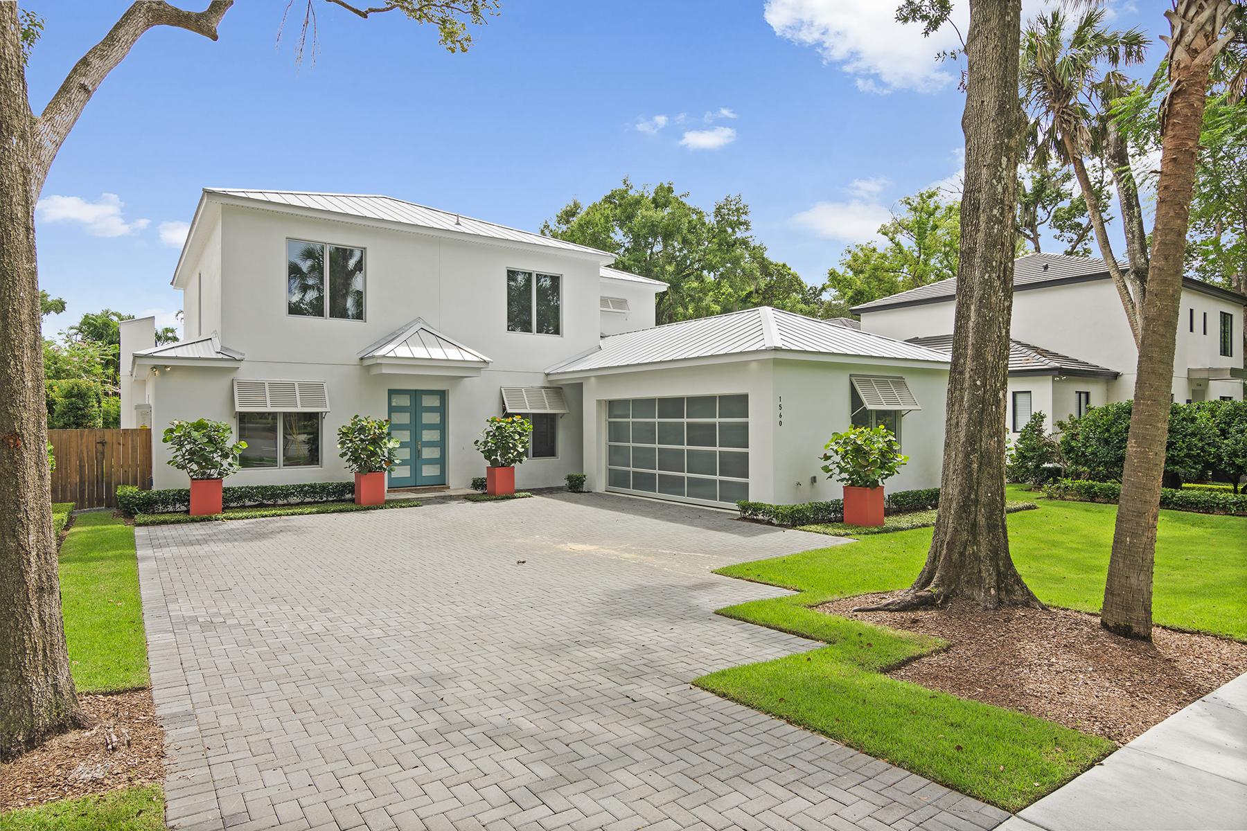 Single Family Homes por un Venta en WINTER PARK 1560 Bryan Ave, Winter Park, Florida 32789 Estados Unidos