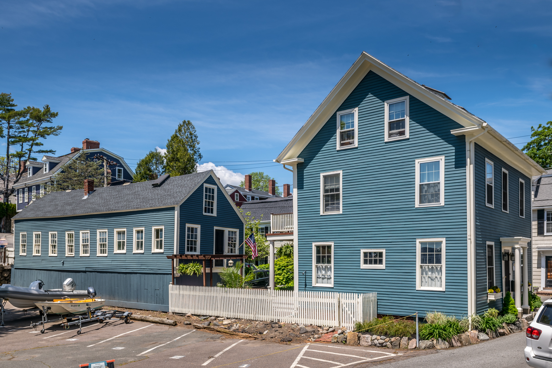 Single Family Homes for Active at Exquisitely Designed Classic Antique 12 Front Street Marblehead, Massachusetts 01945 United States
