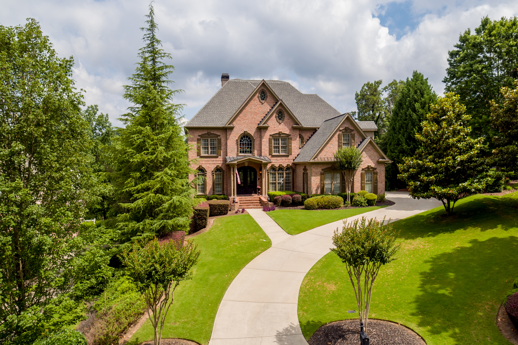 Single Family Home for Sale at Exceptional Poolside Retreat With Golf Views 10210 Brixton Place Suwanee, Georgia 30024 United States