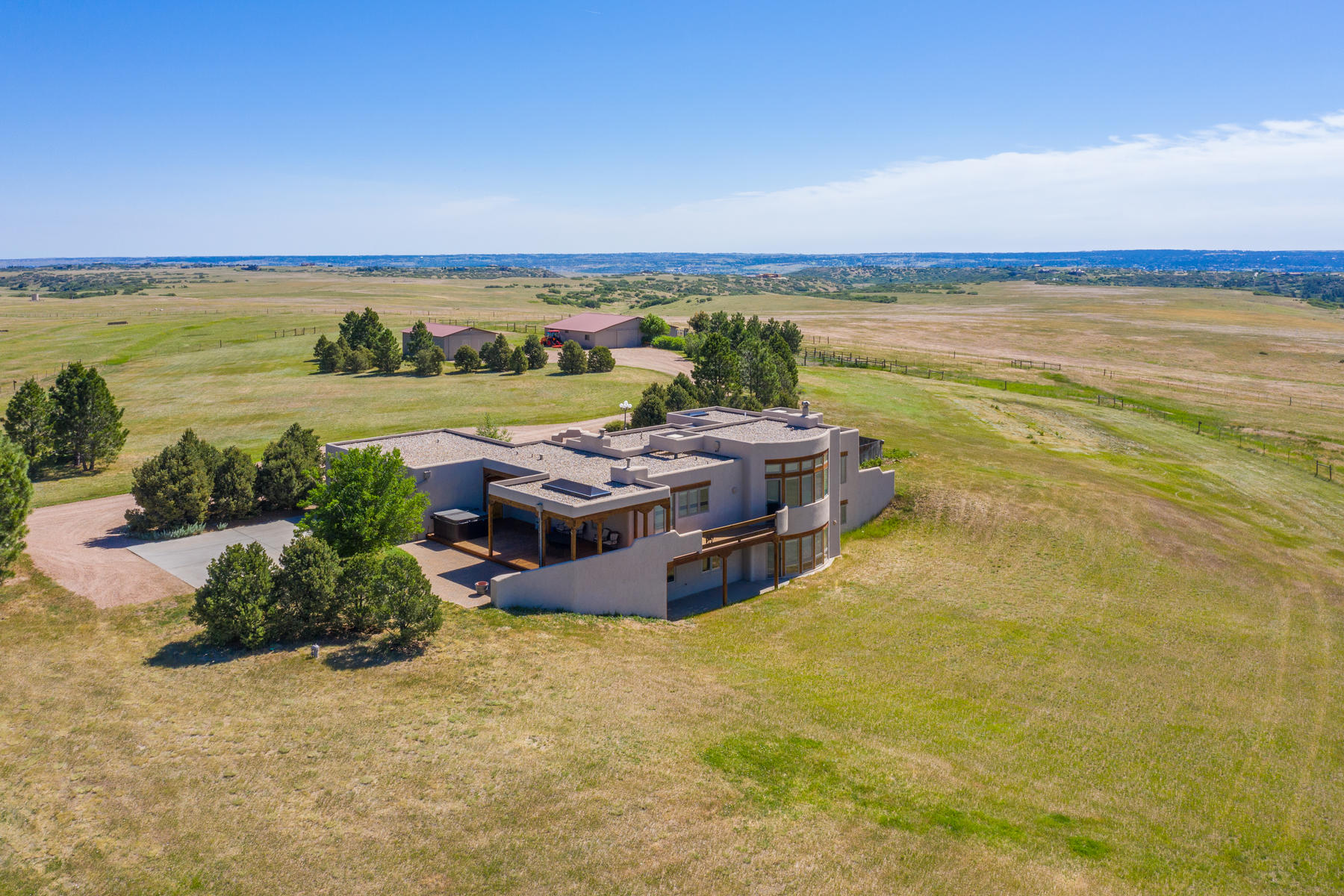 Single Family Homes for Active at 35 Acres of Equestrian Tranquility 1764 Mesa Ridge Lane Castle Rock, Colorado 80108 United States