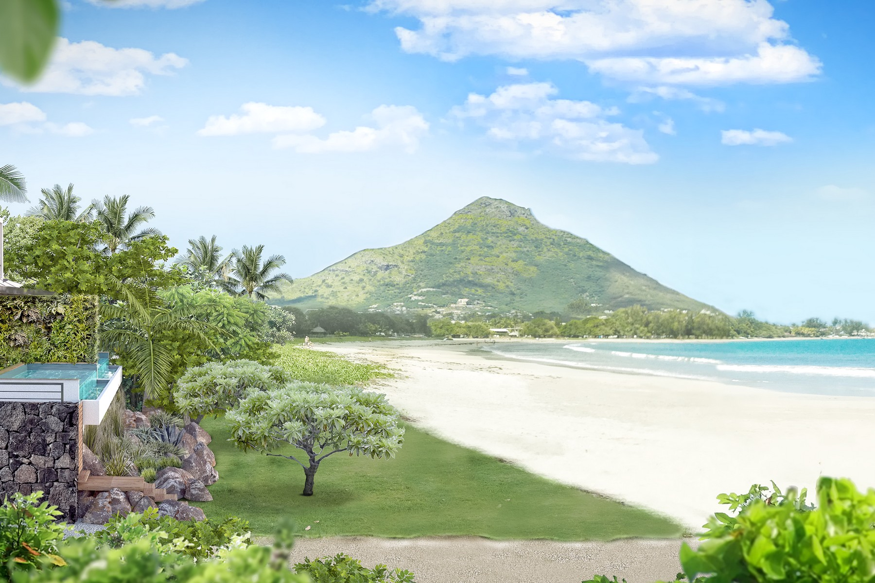 Apartment for Sale at Freehold Seafront Residence Tamarin, Black River Mauritius