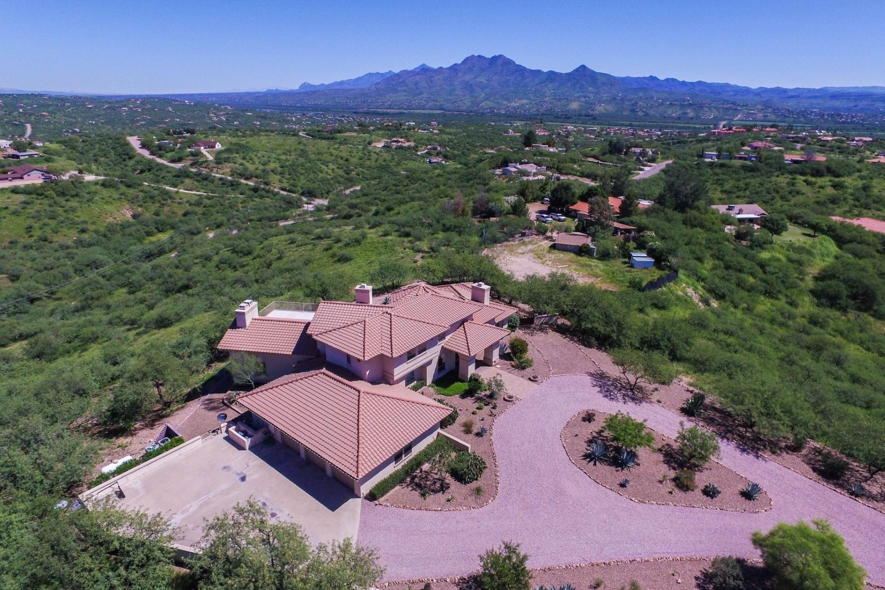 Single Family Home for Sale at Custom Built Mediterranean Style Home 1032 Acaso Ct, Rio Rico, Arizona, 85648 United States