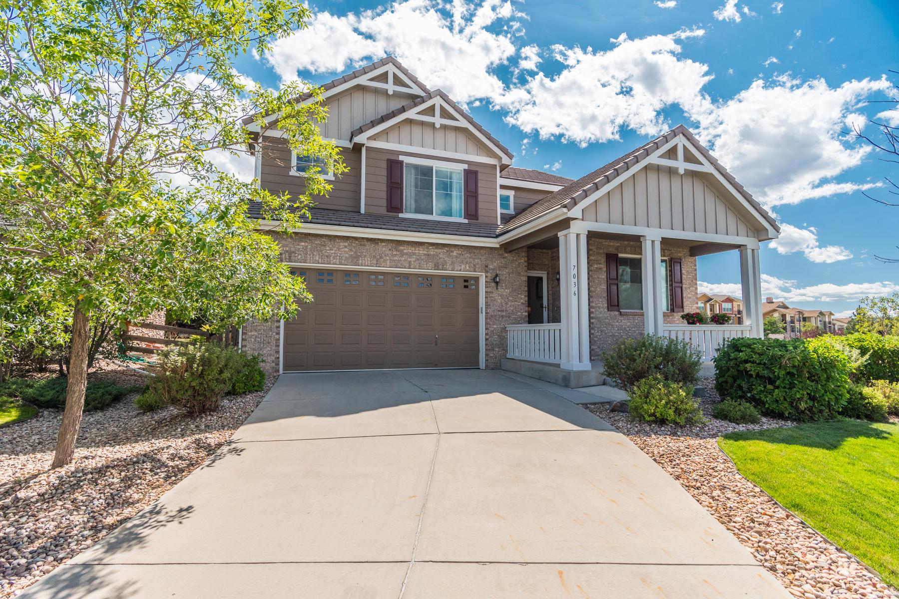 Single Family Homes for Sale at 7036 S Gun Club Court 7036 S Gun Club Ct Aurora, Colorado 80016 United States