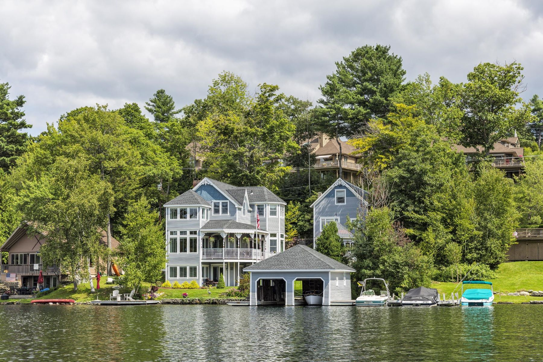 Single Family Home for Sale at Stunning Property on Lake Sunapee 87 Lake Ave Sunapee, New Hampshire 03782 United States