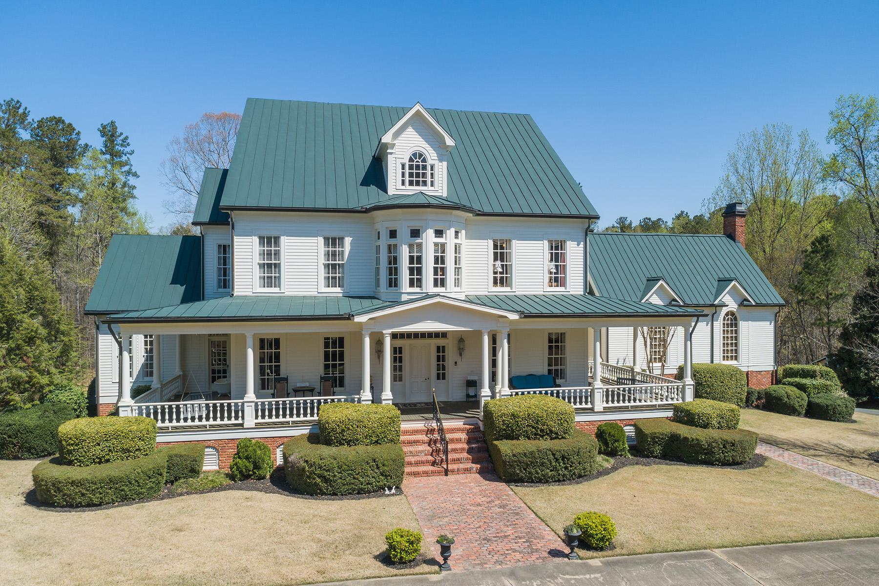 Single Family Homes 용 매매 에 One-of-a-Kind Estate on 18 Acres in West Cobb 1574 Bullard Road, Powder Springs, 조지아 30127 미국