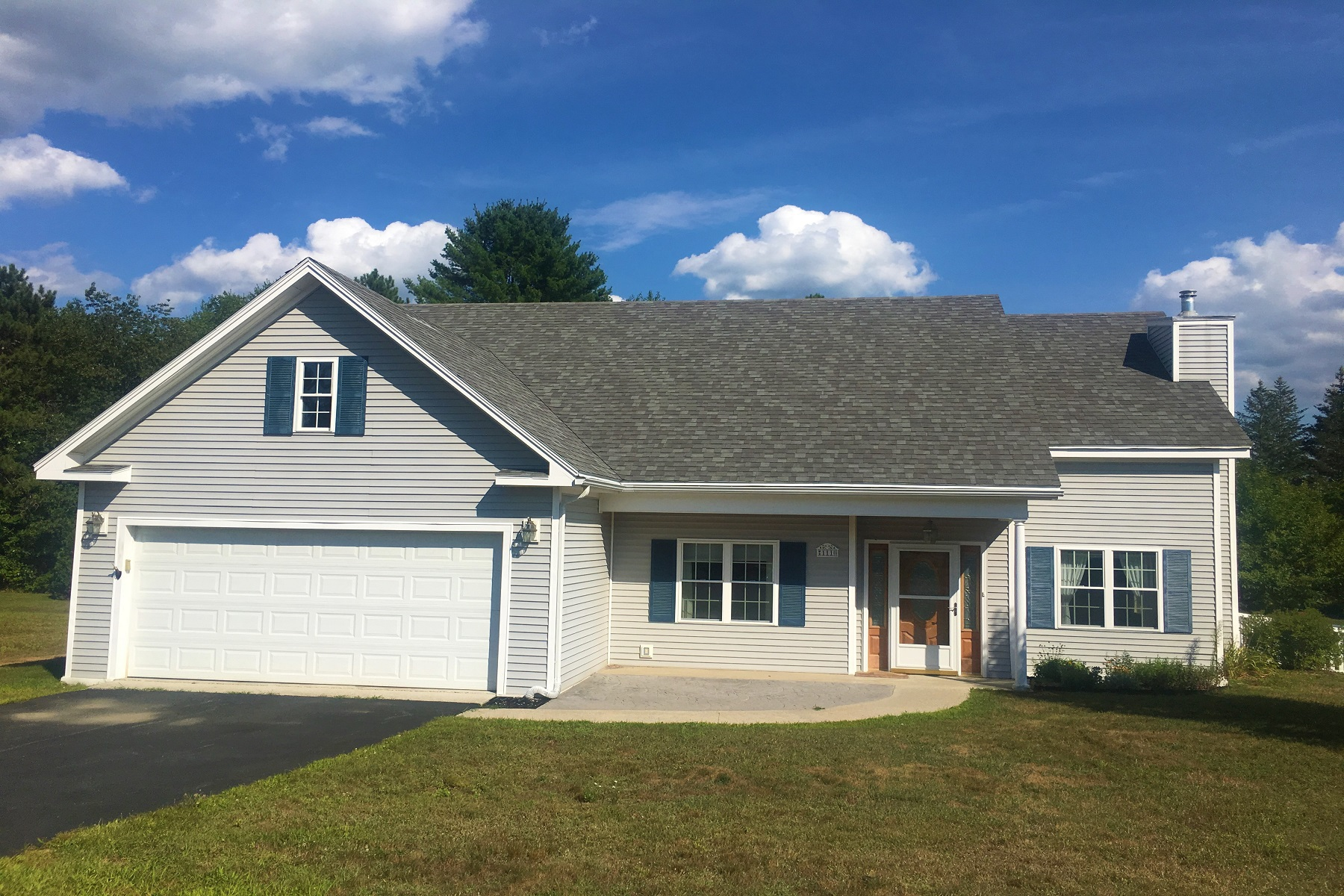 Single Family Homes for Sale at Impeccable Single Level Home 111 Waterford Lane Springfield, Vermont 05150 United States