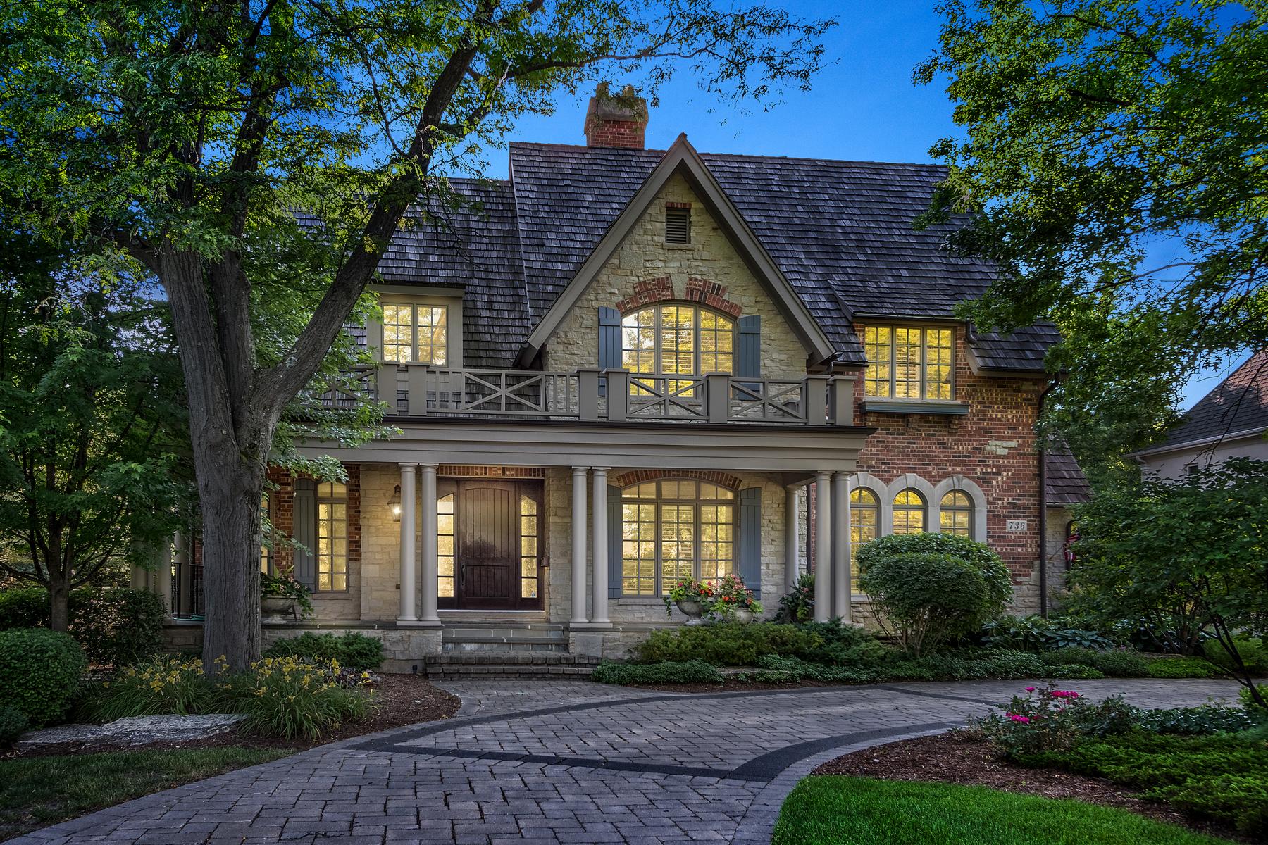 Casa para uma família para Venda às 736 Cleveland Road Hinsdale, Illinois, 60521 Estados Unidos