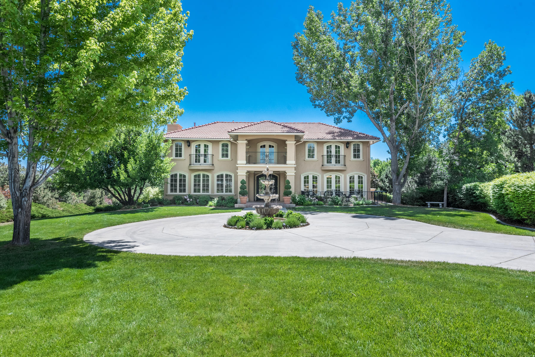 Single Family Home for Active at Exceptional Outdoor Living With This Custom Greenwood Village Home 5816 South Village Way Greenwood Village, Colorado 80121 United States