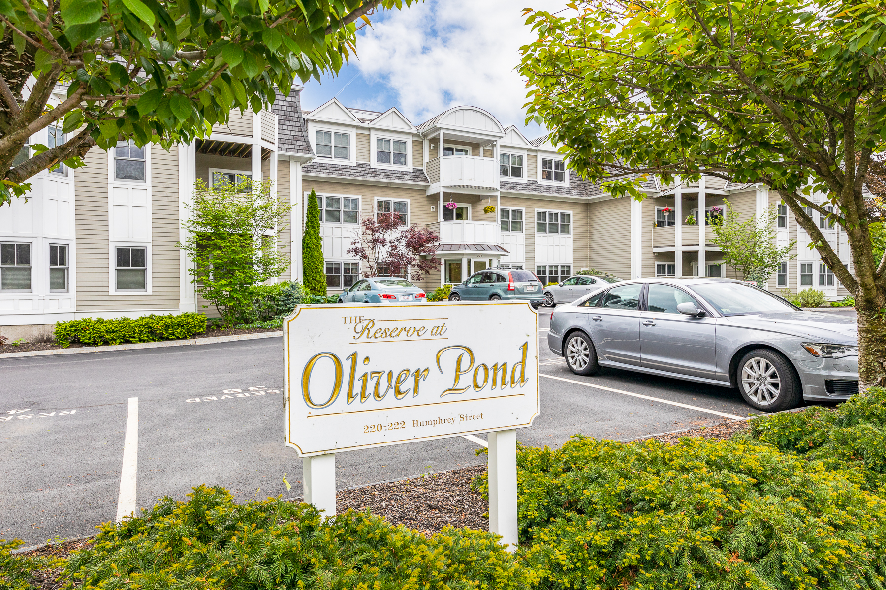 Condominiums for Sale at The Reserve at Oliver Pond 220 Humphrey Street #207 Marblehead, Massachusetts 01945 United States
