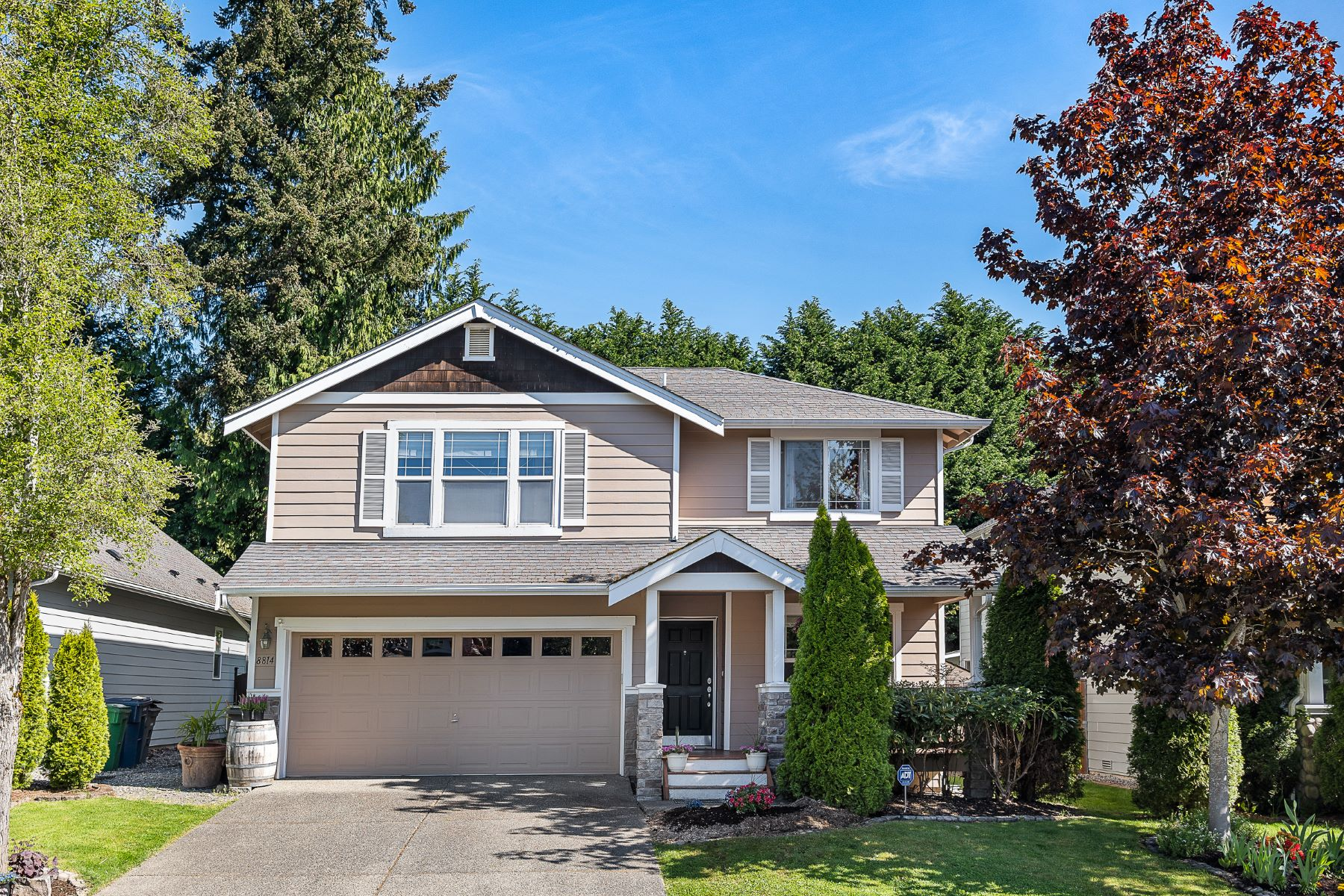 Single Family Homes for Sale at Westhill Home 8814 NE 178th St, Bothell, Washington 98011 United States