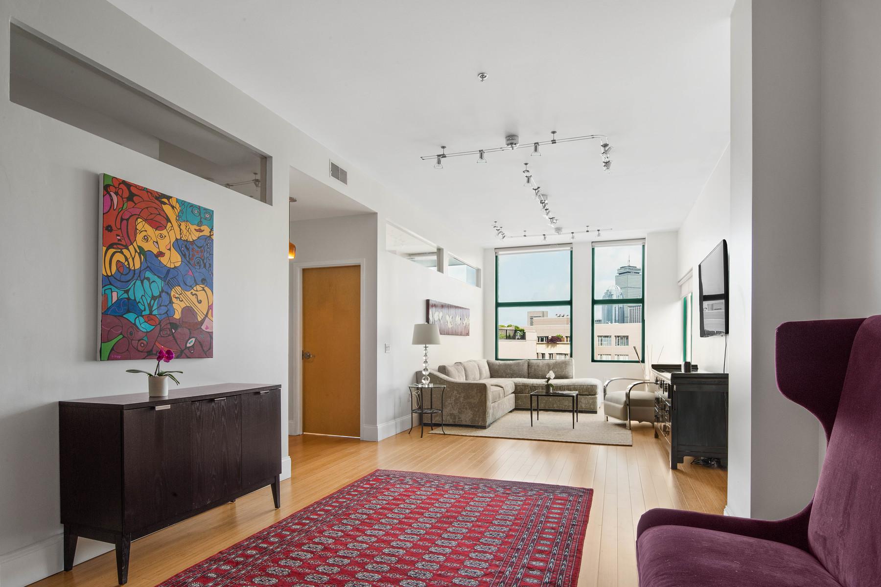 Кондоминиум для того Продажа на Harrison Lofts 485 Harrison Ave - Unit 502 Boston, Массачусетс, 02118 Соединенные Штаты
