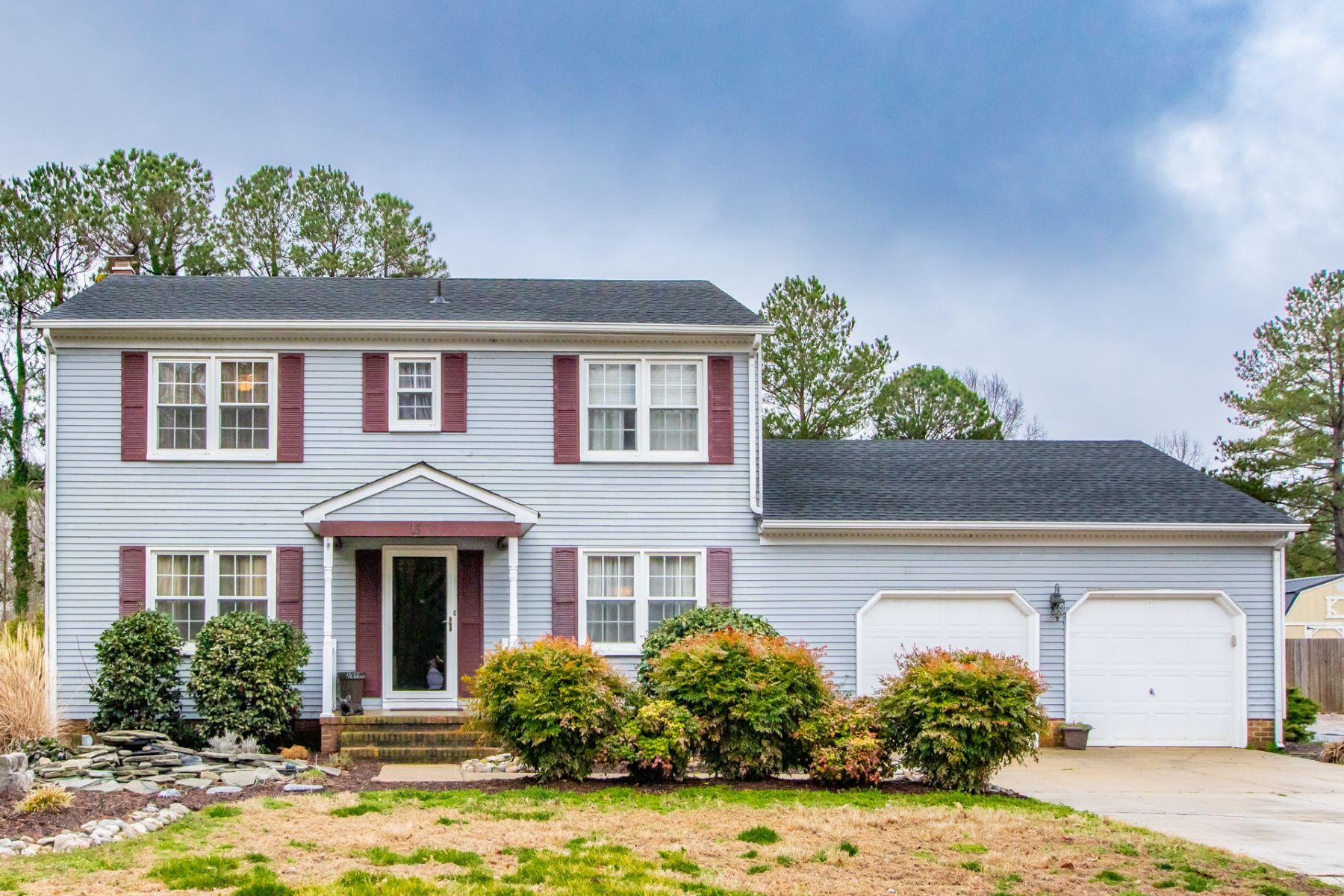 Single Family Home for Sale at CARISBROOKE 13 Nelson Maine Carrollton, Virginia 23314 United States