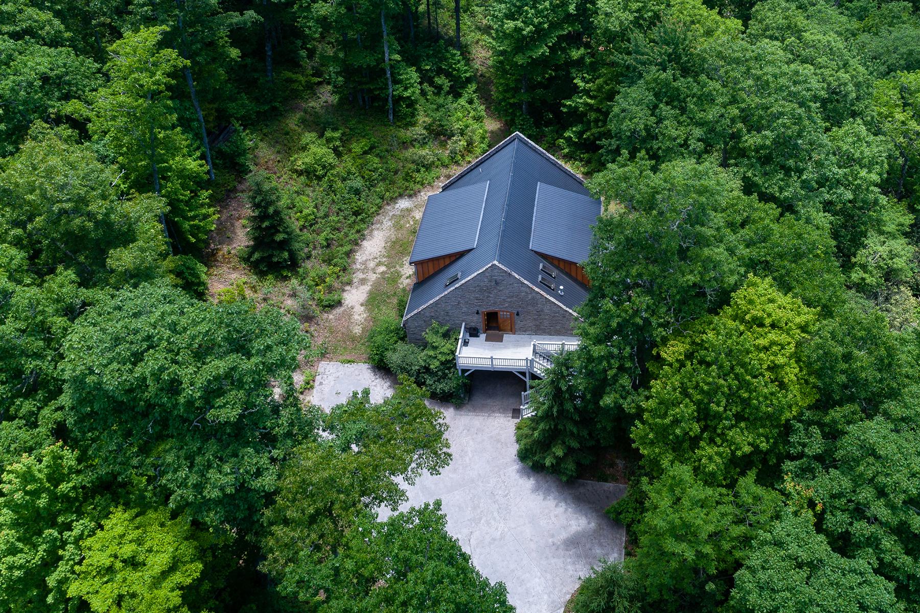 Single Family Home for Active at GLENVILLE 532 Fox Knob Drive Glenville, North Carolina 28736 United States